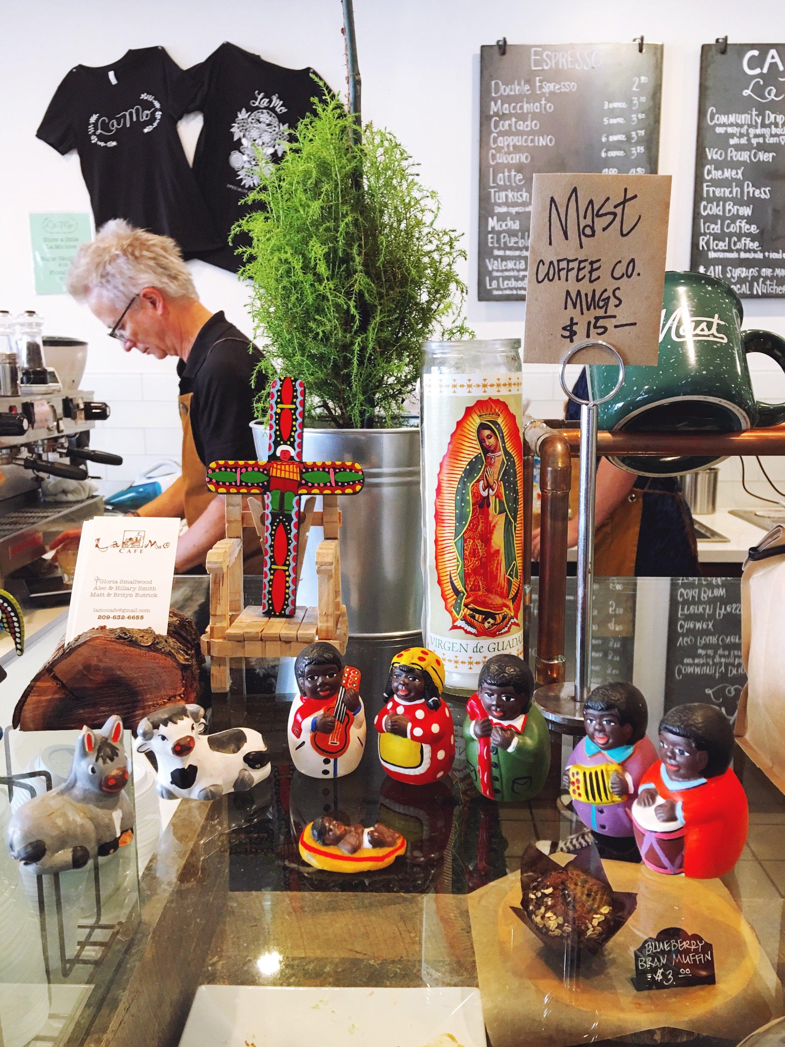 Hispanic Inspired Deco at La Mo Cafe
