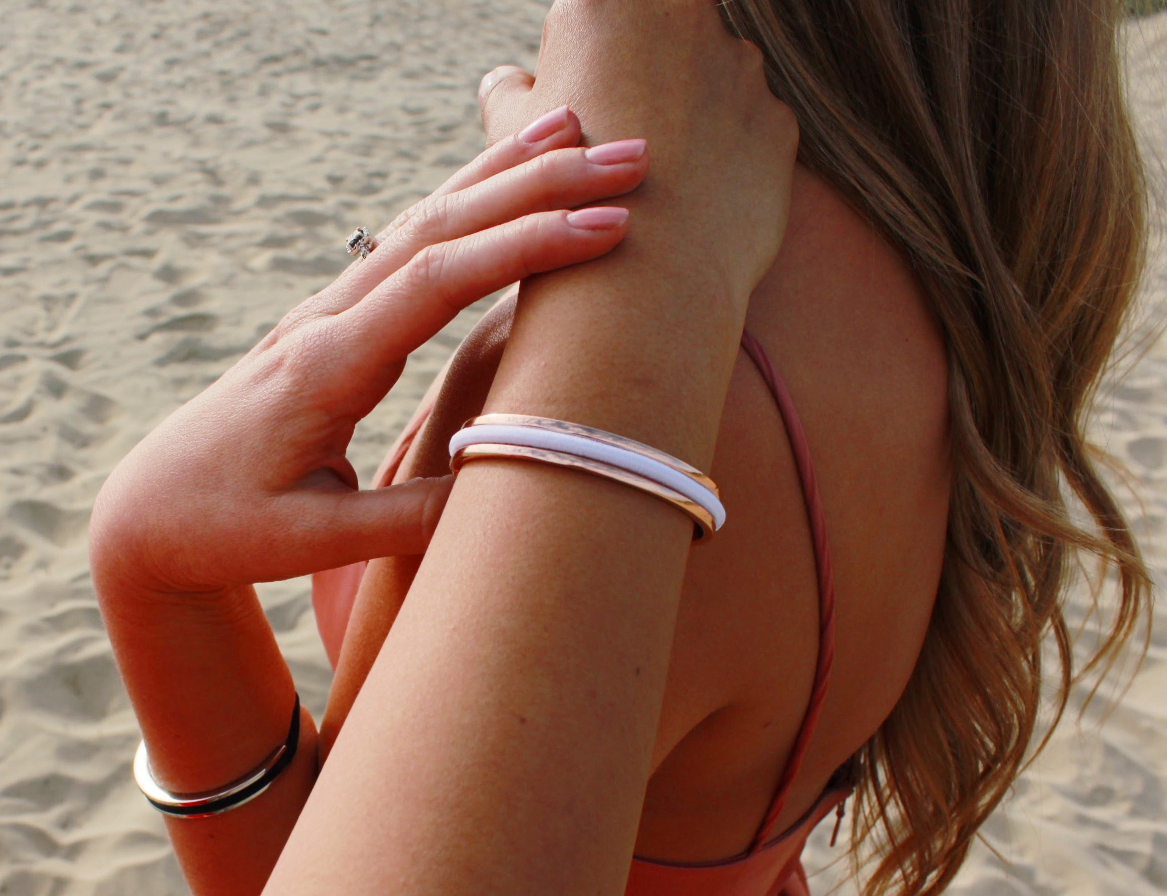 Beach Curls and Maria Shireen HairTie Bracelets
