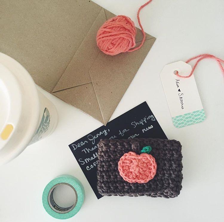 A-List Stitches Crochet Goods. Crochet Drink Koozie