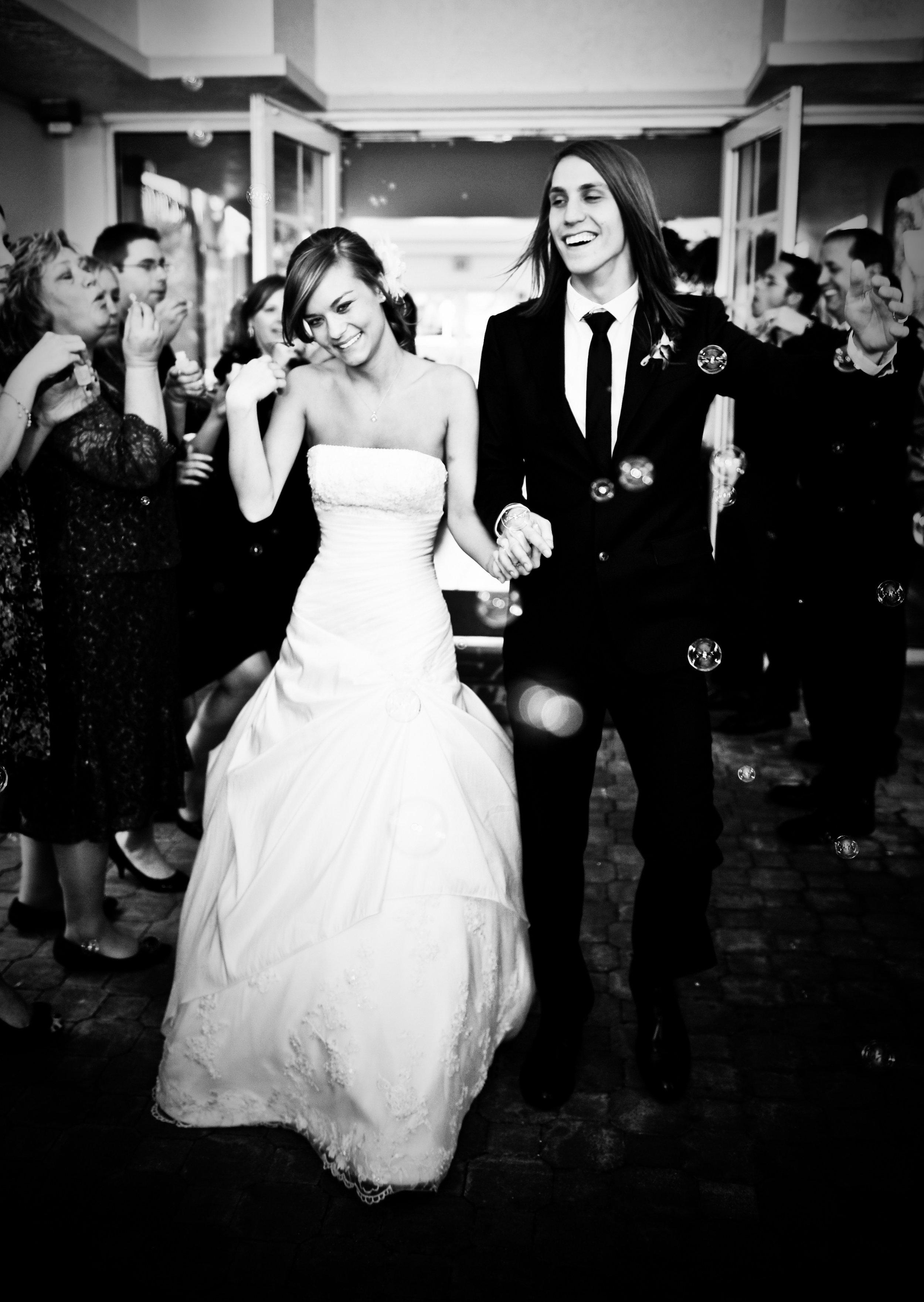 Ft. Lauderdale, Florida Couchman and Jones Wedding 2011. Strapless Wedding Dress.
