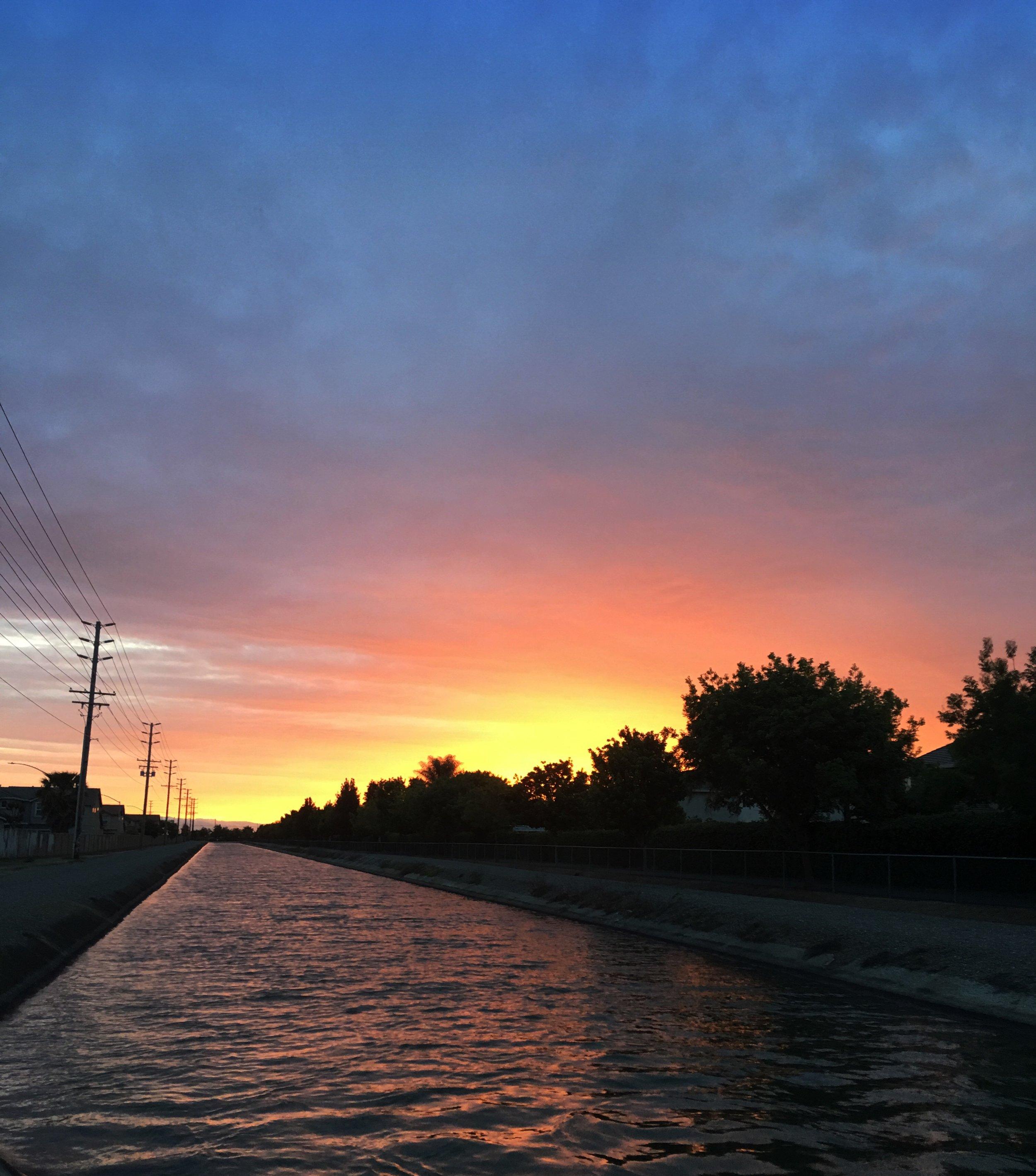Central California Sunset.