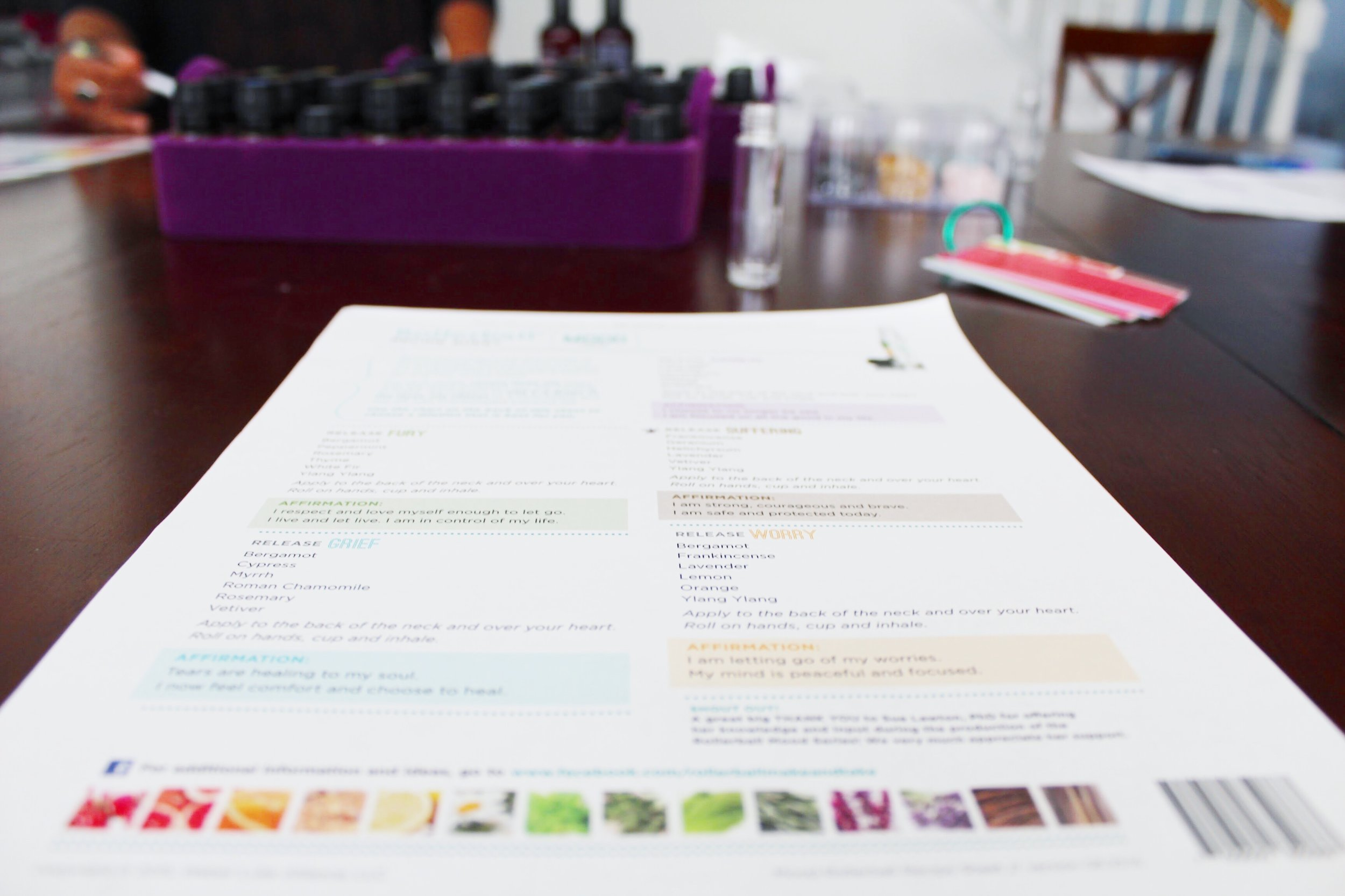 Make Your Own Personal Oil Blend with DoTerra