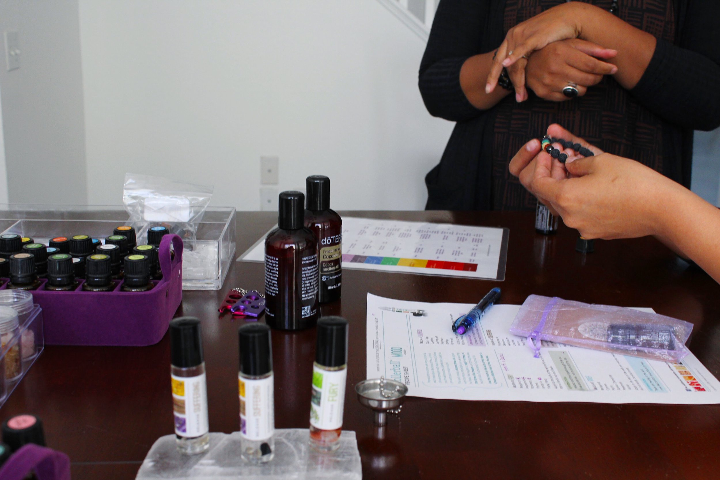 Educational Class on Crystals and DoTerra Essential Oils