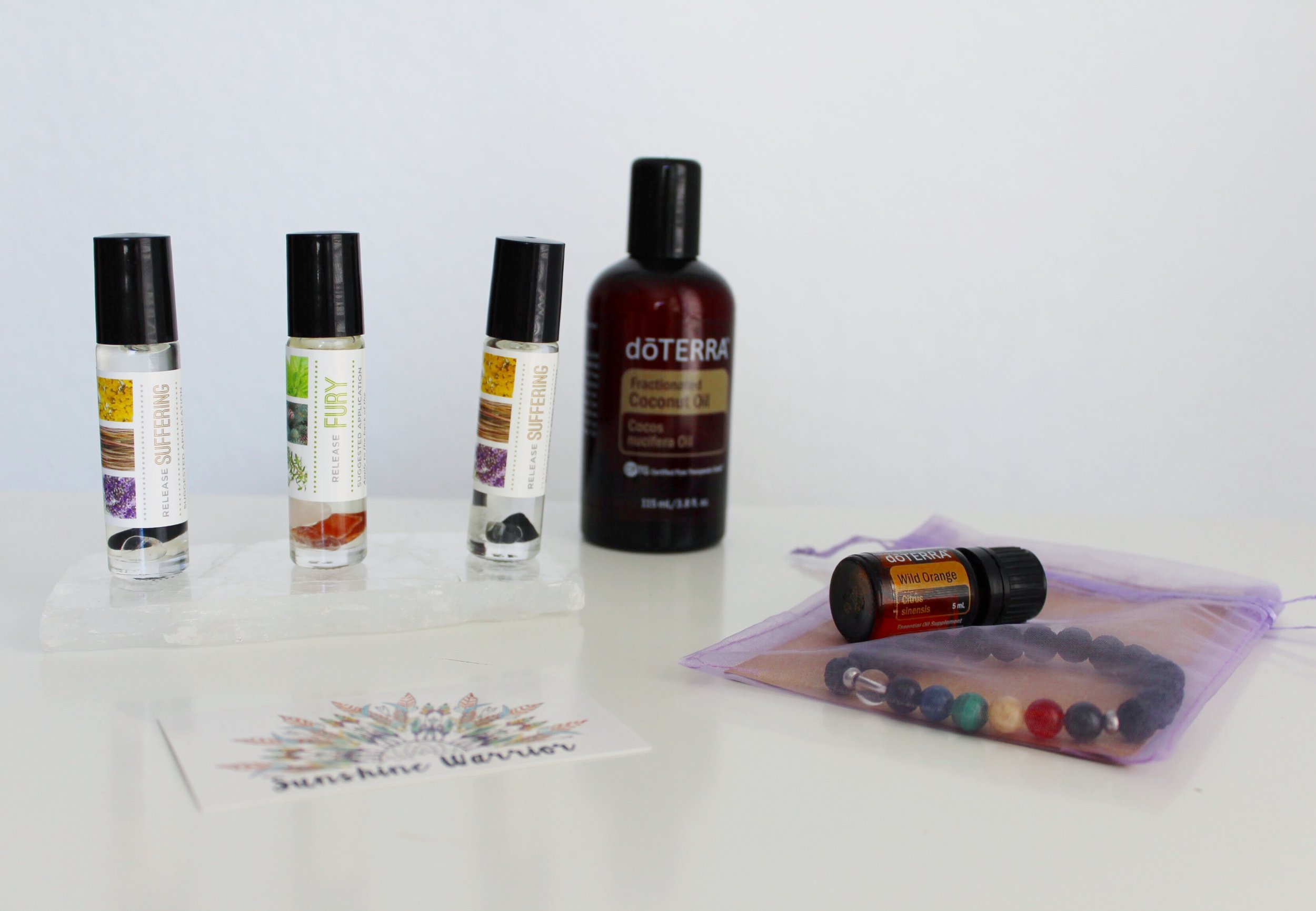 Personal Roll On Oil Blends and Coconut Oil from DoTerra