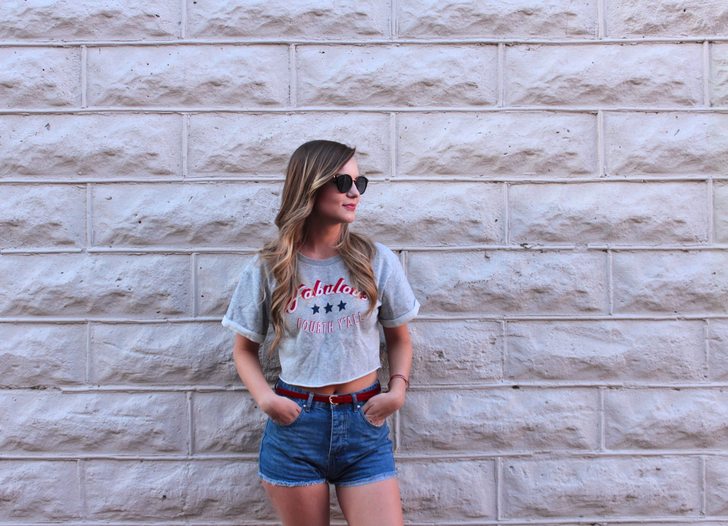 Summer Staples: Sunglasses and Denim Shorts