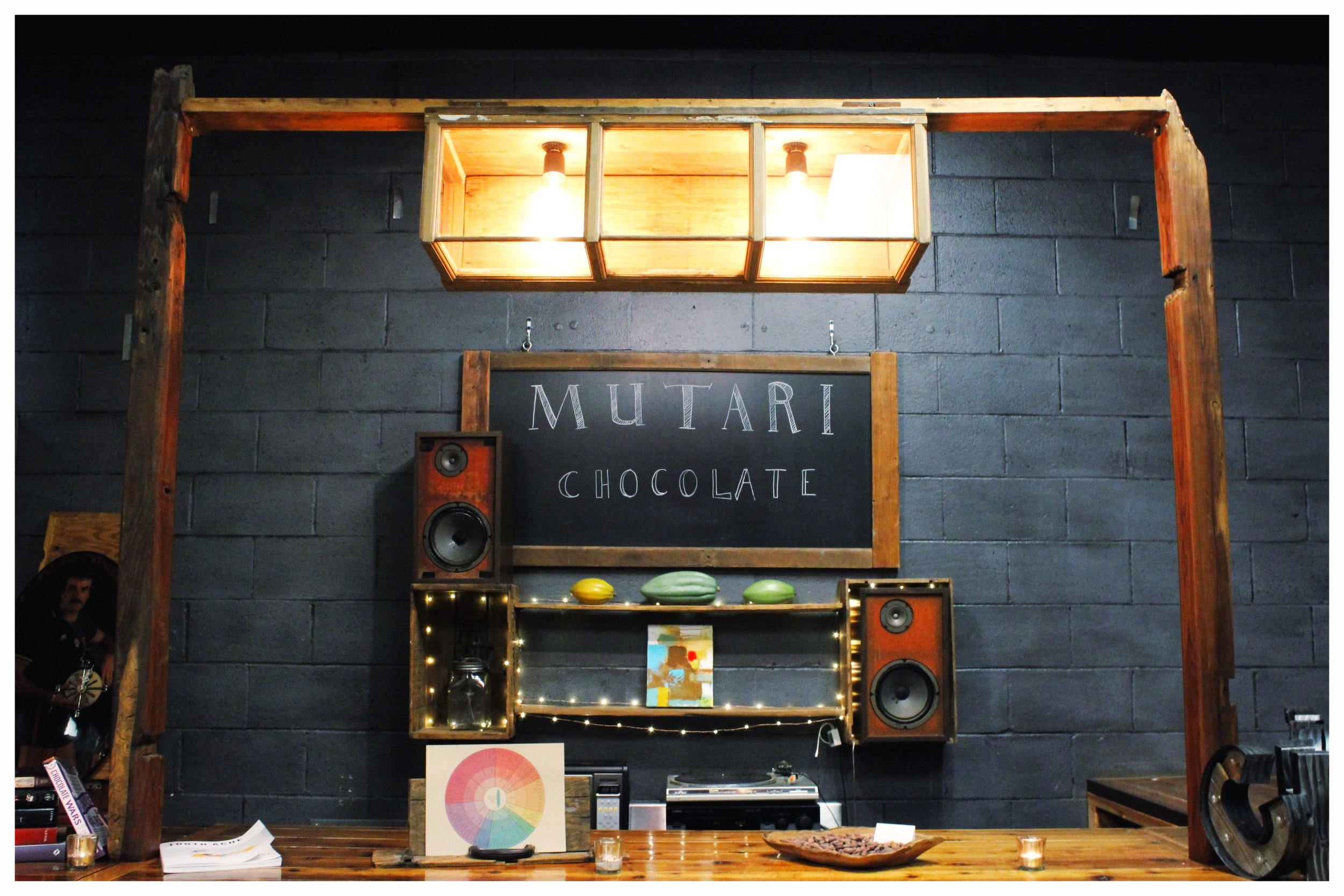 Mutari Chocolate Tasting Bar