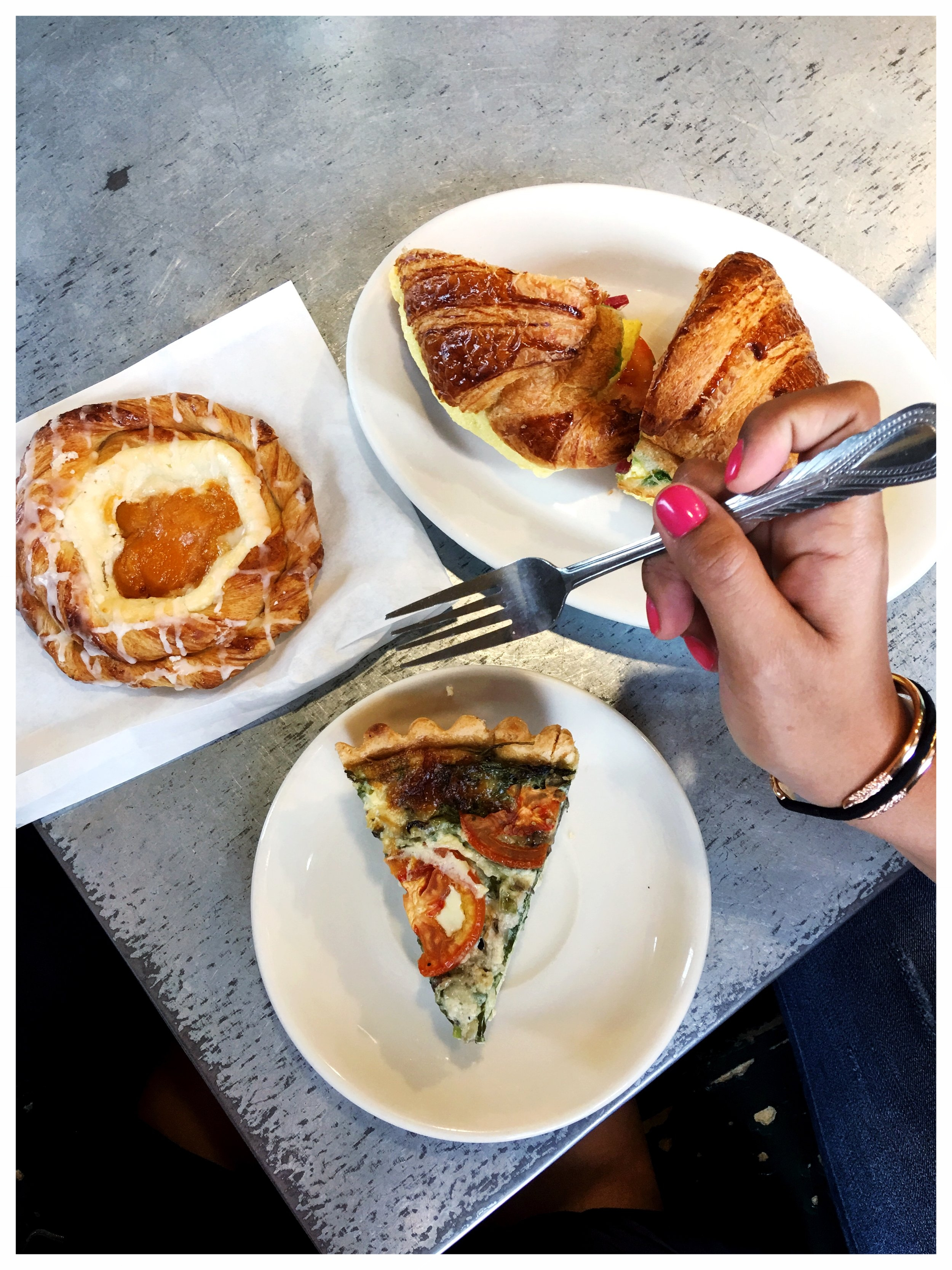 Baked Goods and Quiche from The Buttery in Santa Cruz