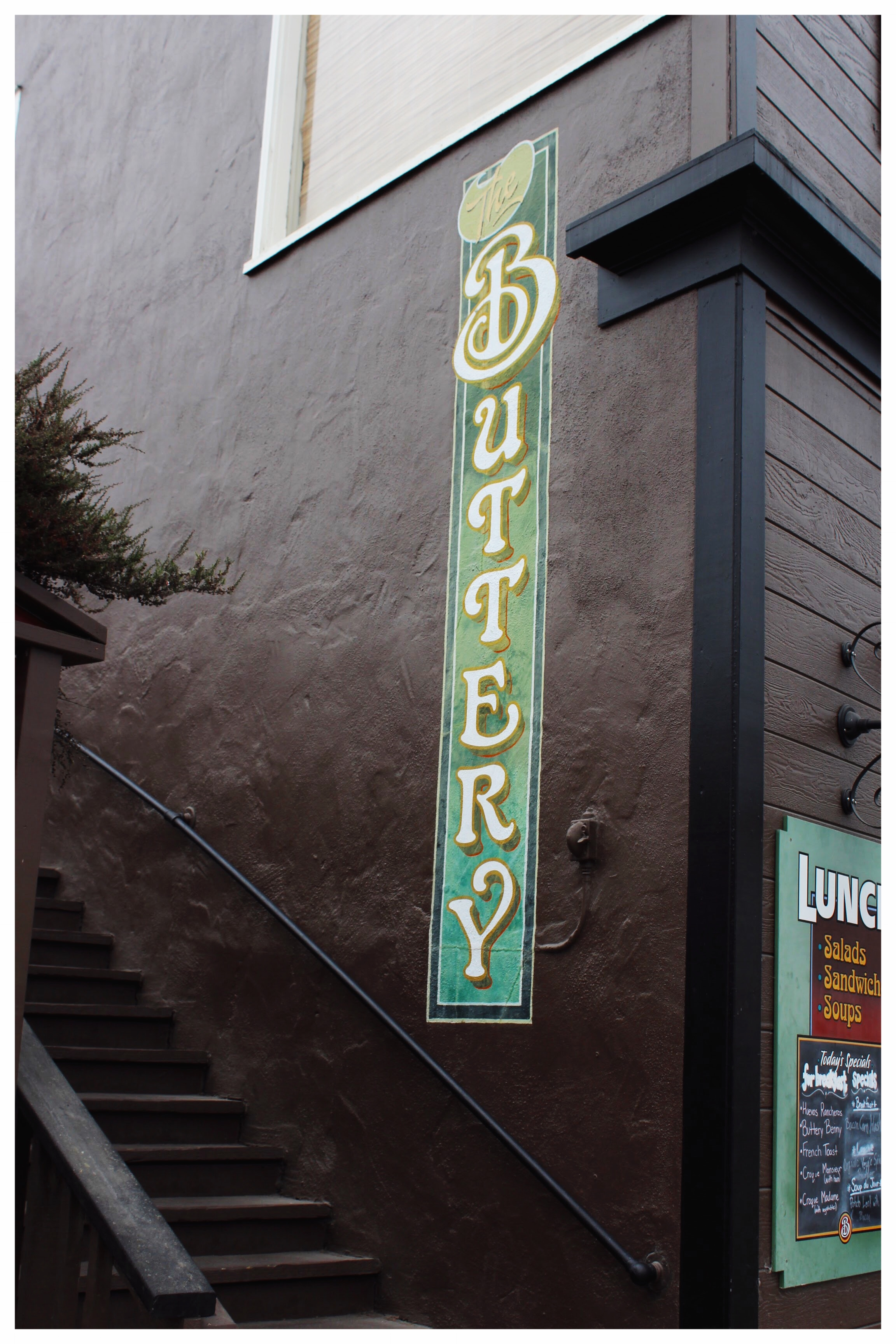 The Buttery Cafe Outdoor Signage