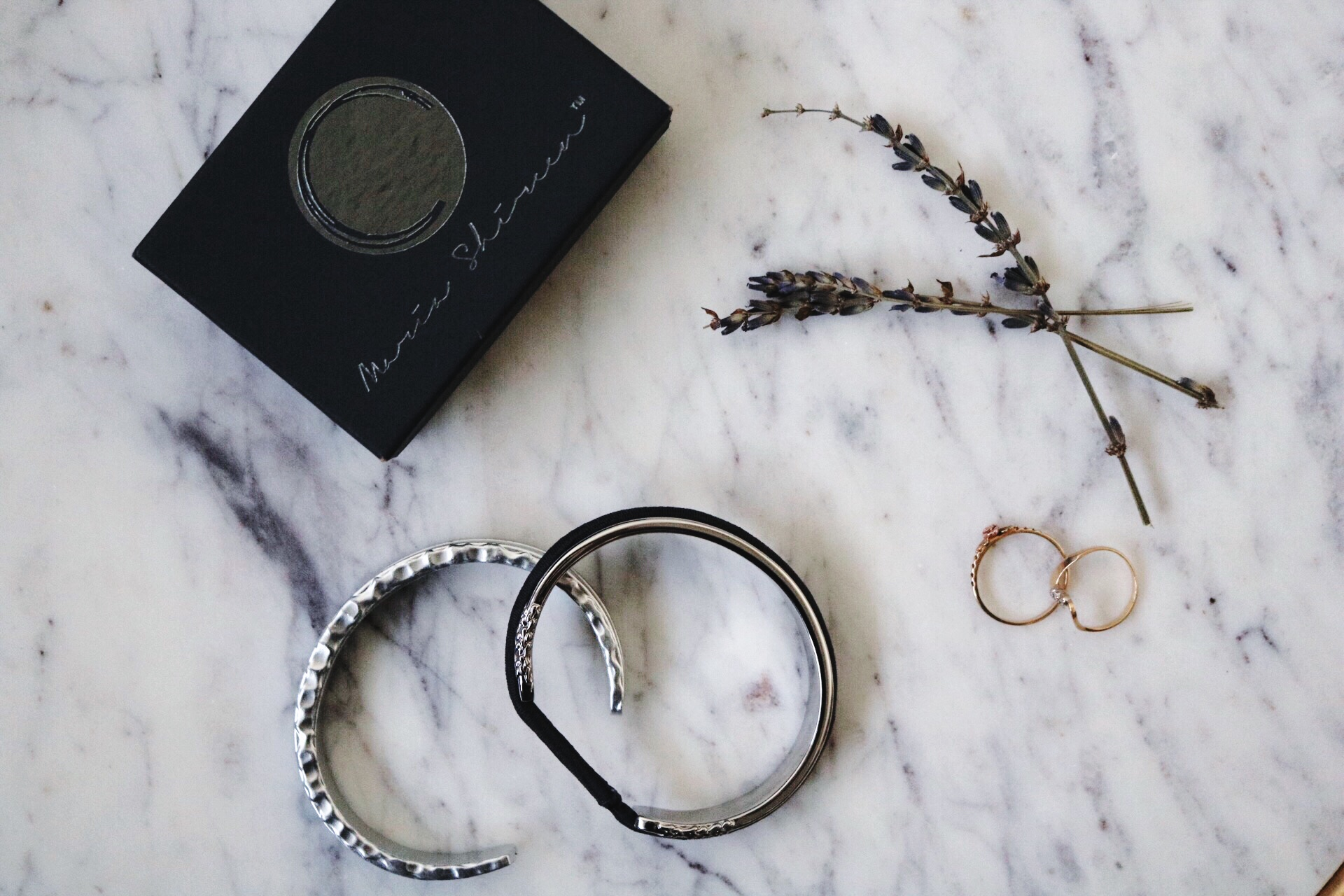 Gold rings, Maria shireen Silver bracelets