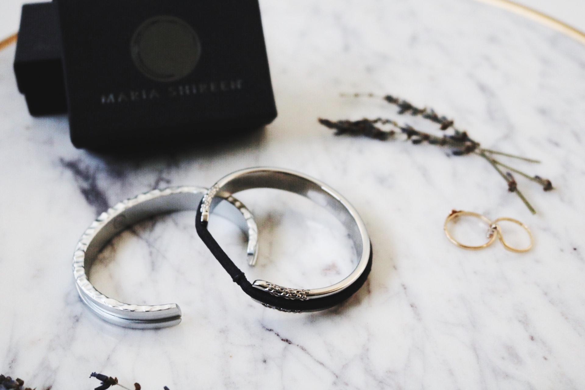 Maria Shireen bracelets gold ring