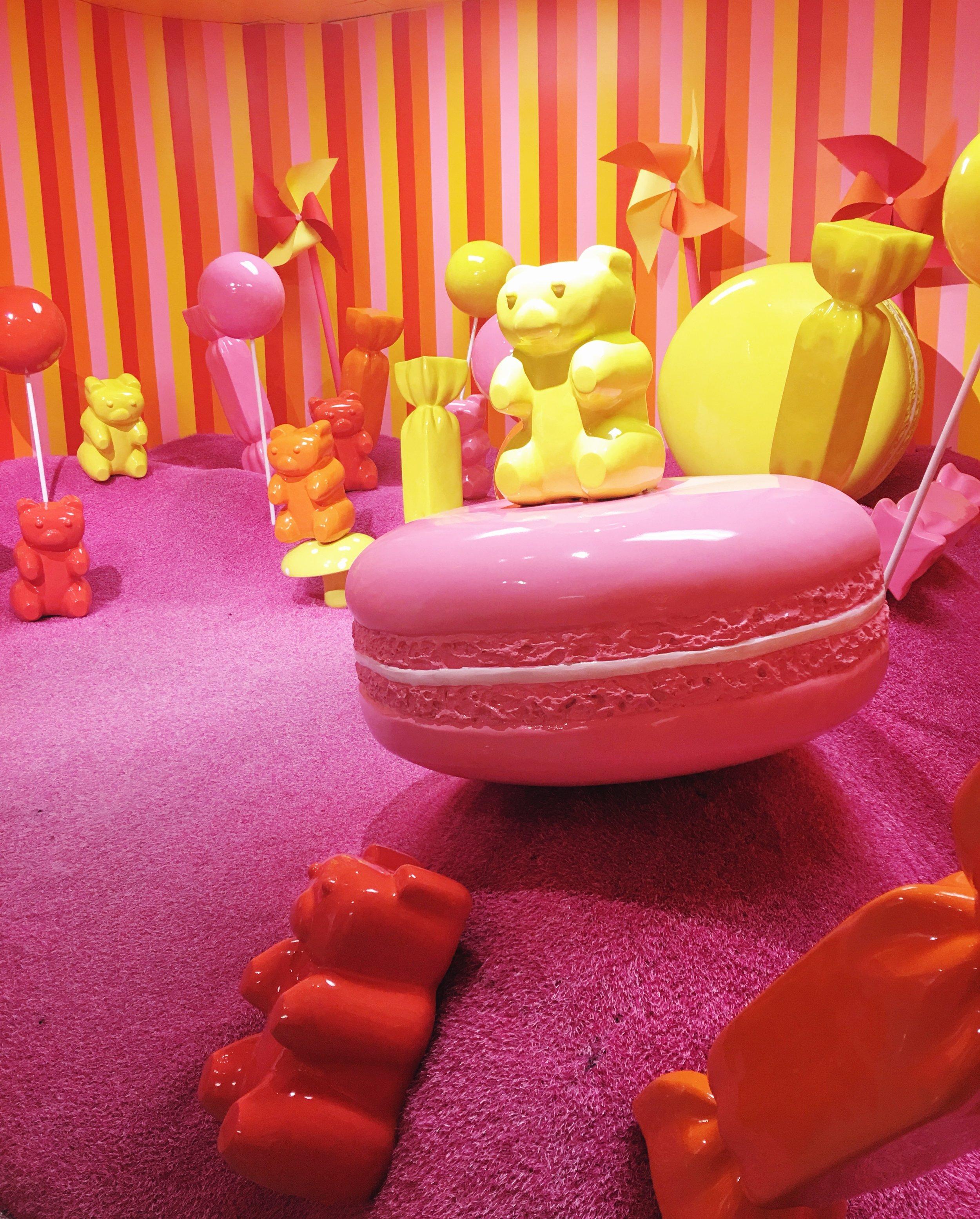 Giant Gummy Bears, Museum of Ice Cream