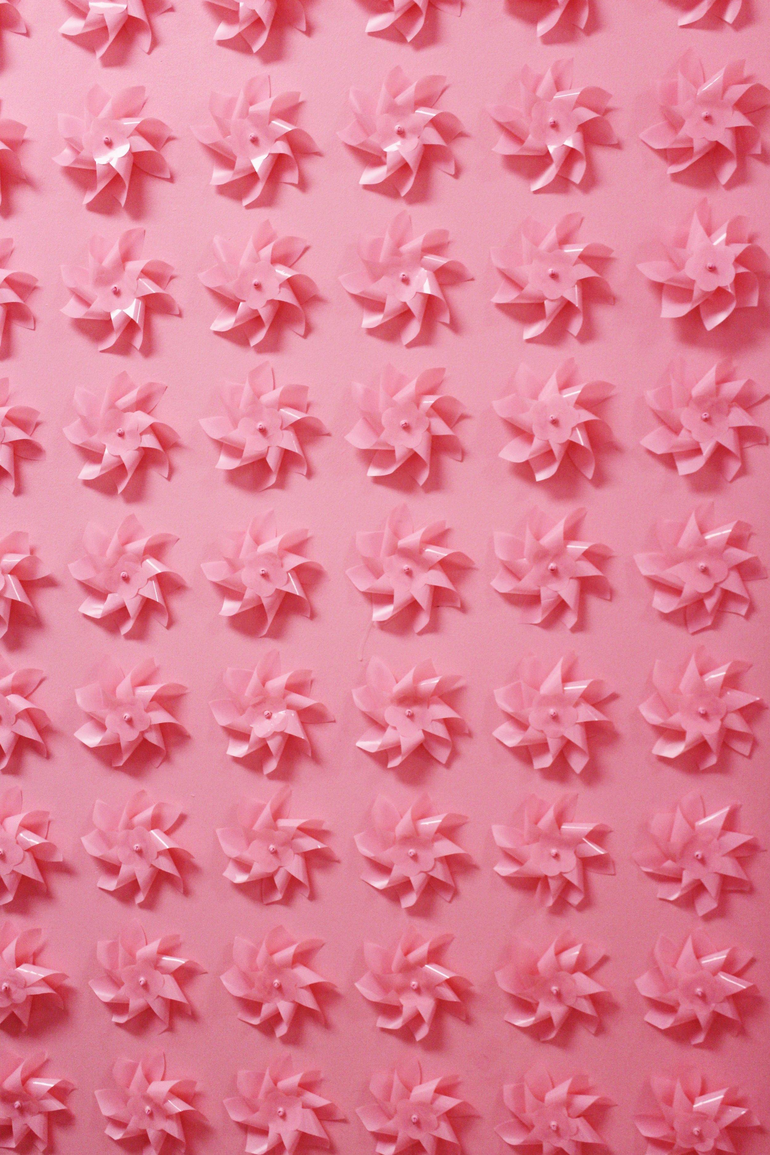 Pink windmills, Museum of Ice Cream