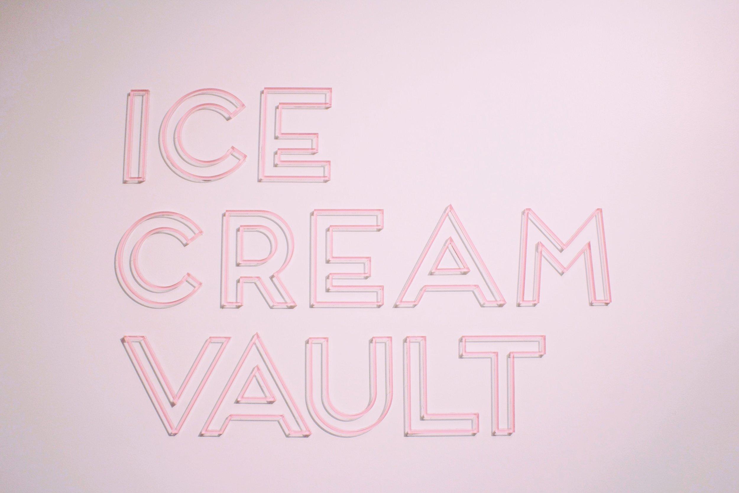 Museum of Ice Cream, Pink Neon Sign