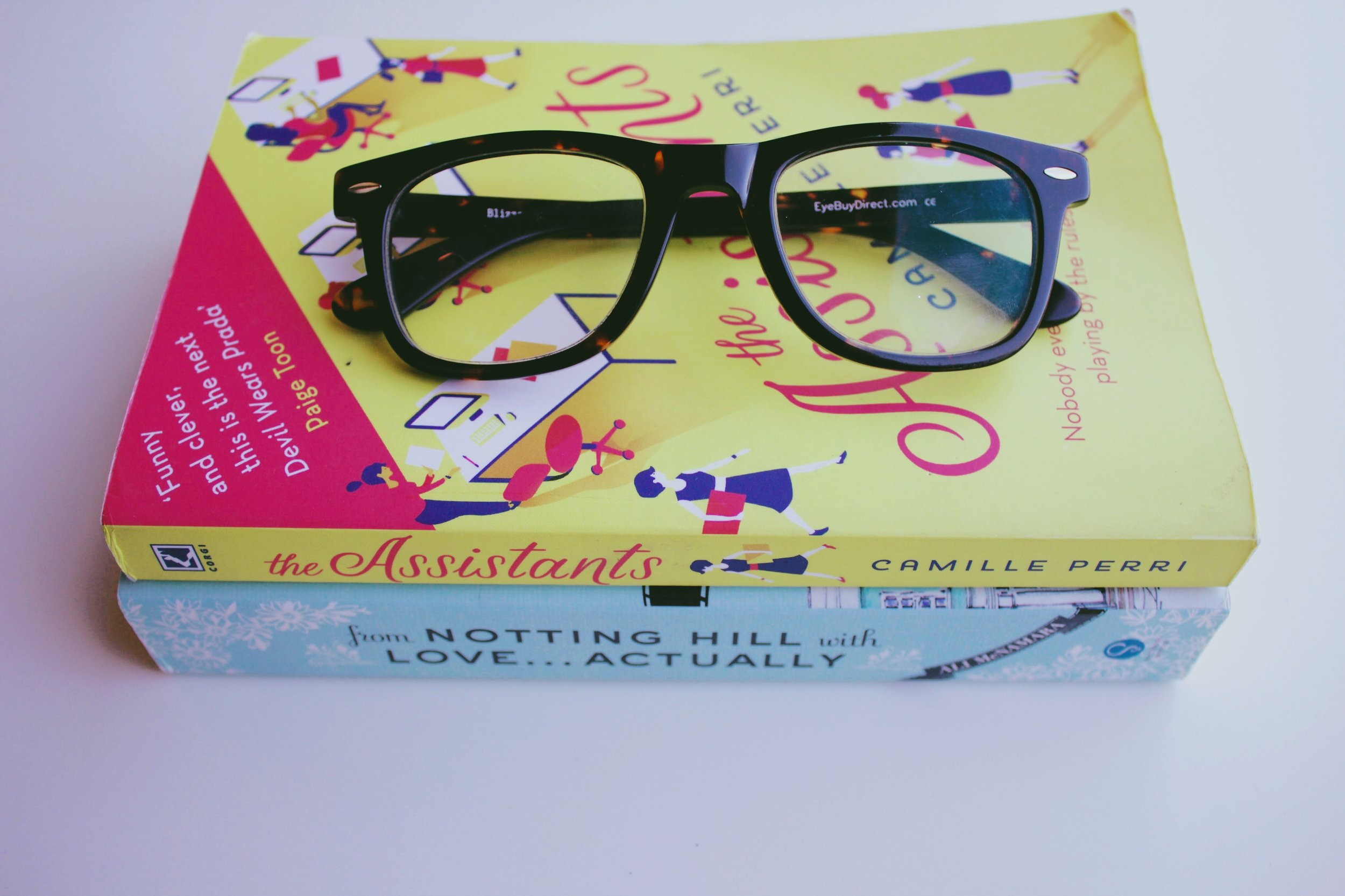 The Assistants, From Notting Hill with Love...Actually, reading, Eye Buy Direct glasses