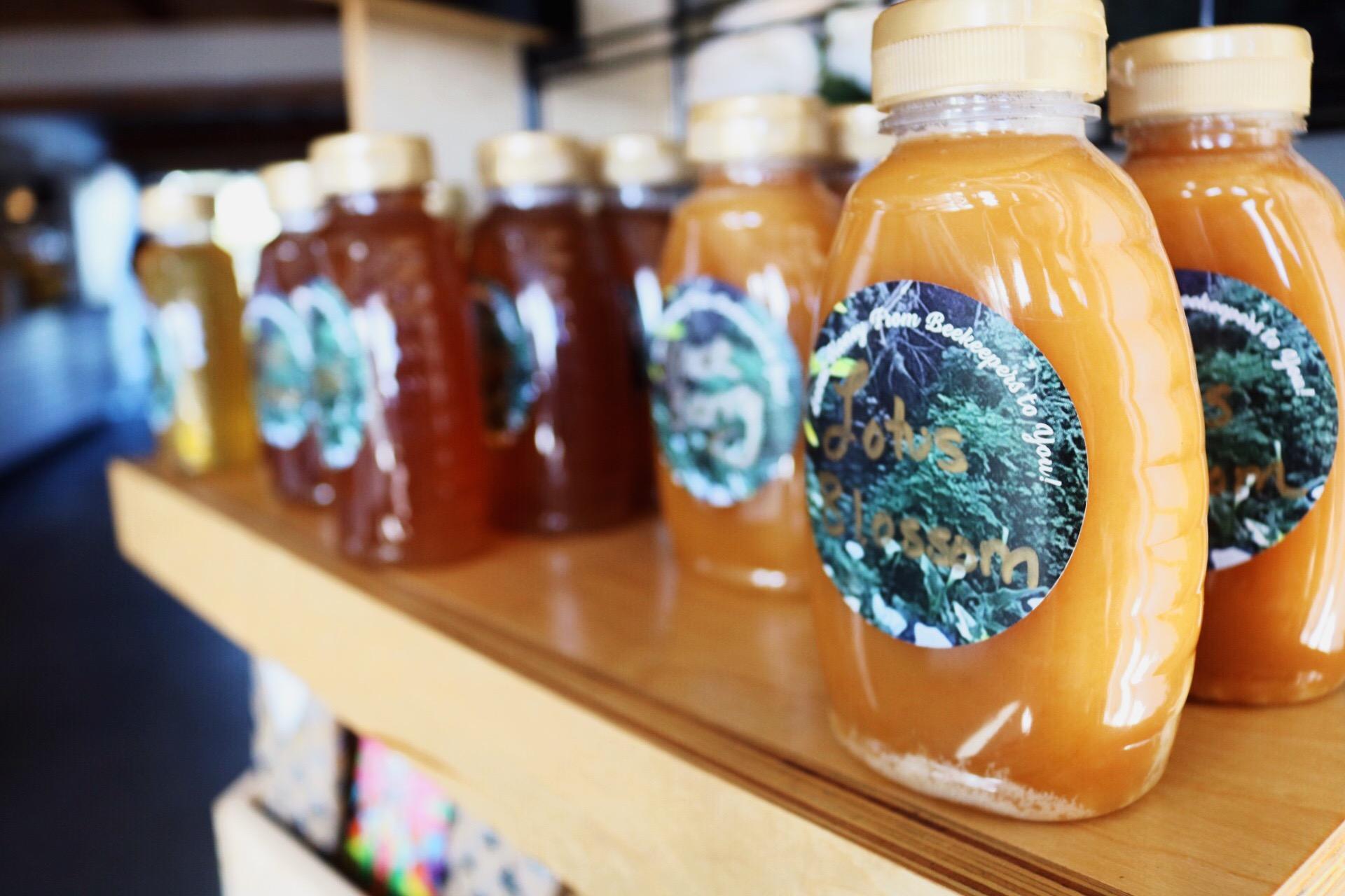 Water & Leaves Coffee and Tea Monterey Beach Honey