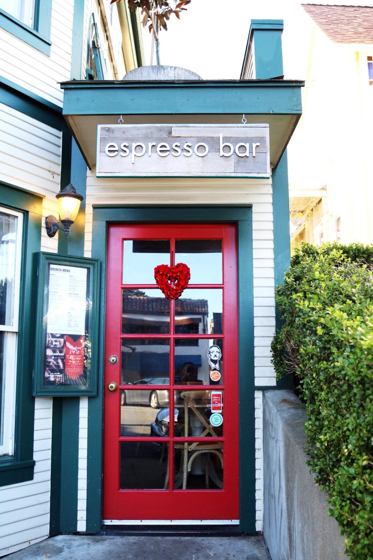 Monterey Beach Brunch Spot Crema Espresso Bar Coffee House