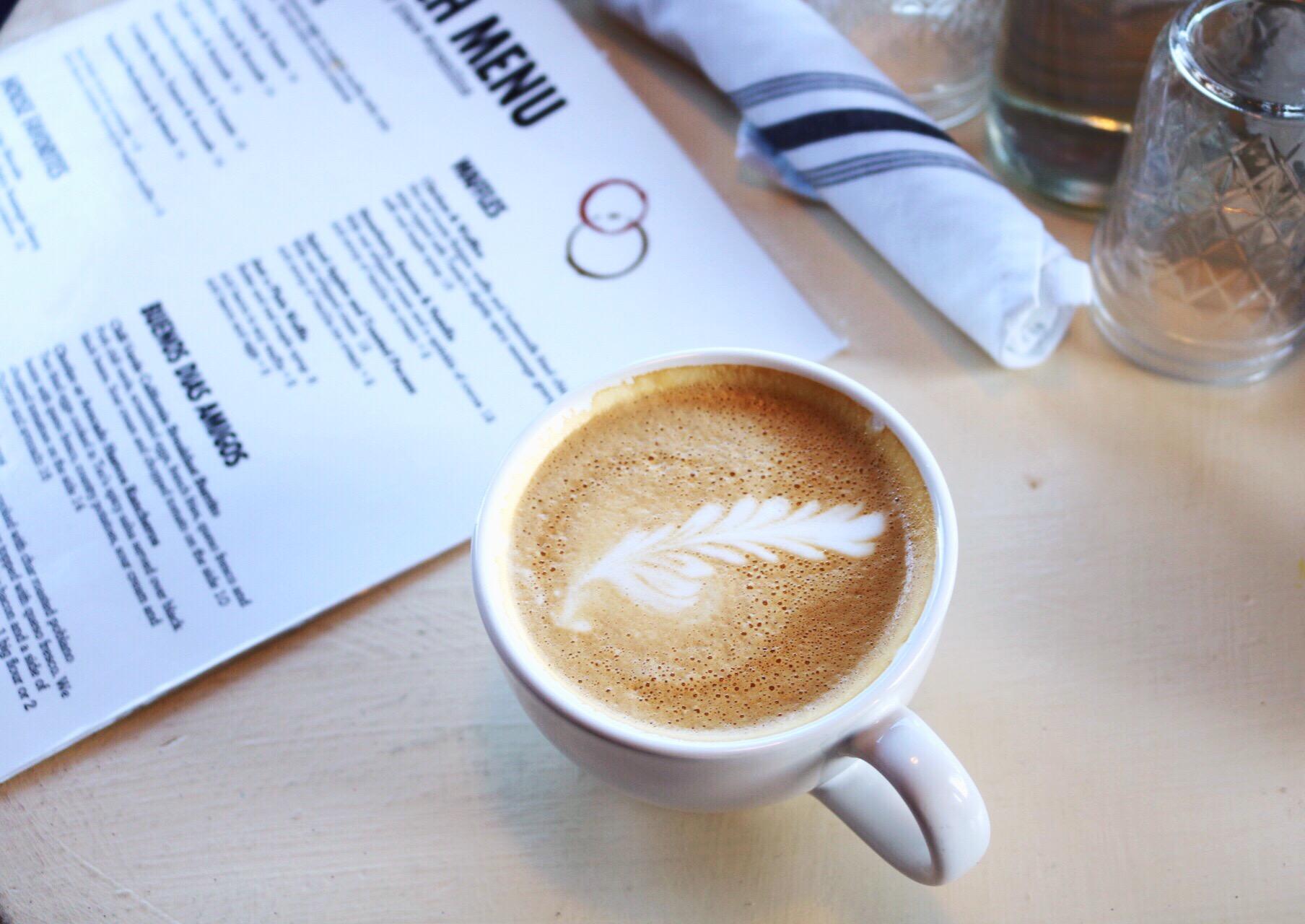 Monterey Beach Brunch Spot Crema Latte Art Coffee House Espresso Bar