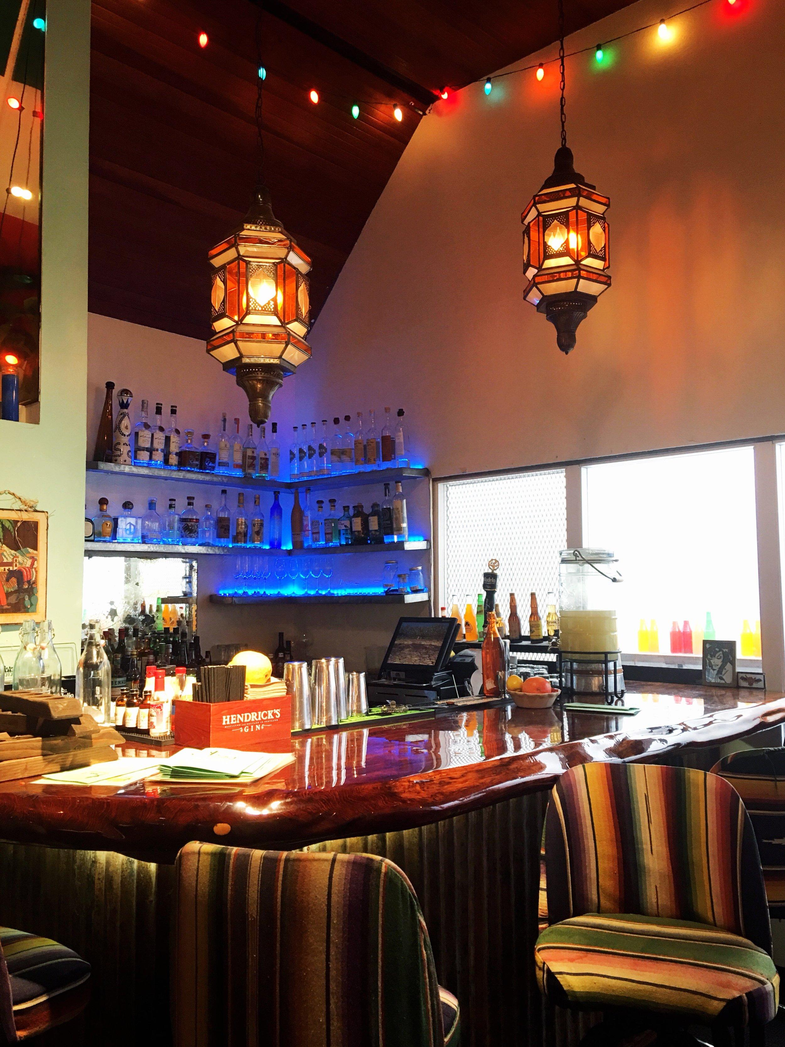 Pescadero Mexican Restaurant Monterey Beach Lunch Spots Colorful Decor