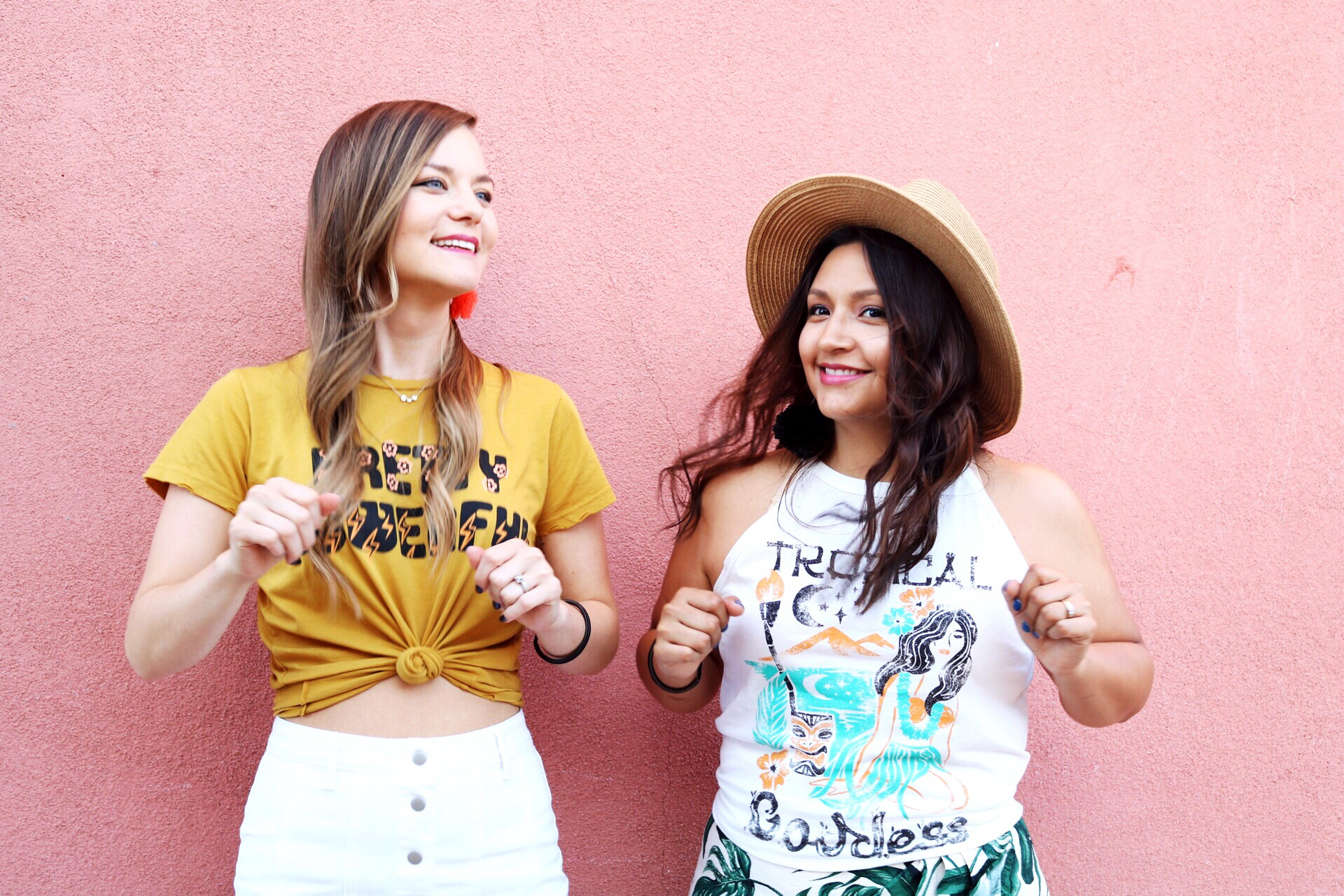 Best friends dance together forever/ Summer fashion inspiration by Dazey L.A.