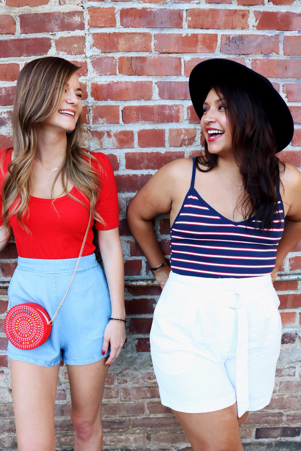 Festive fourth of July outfits!