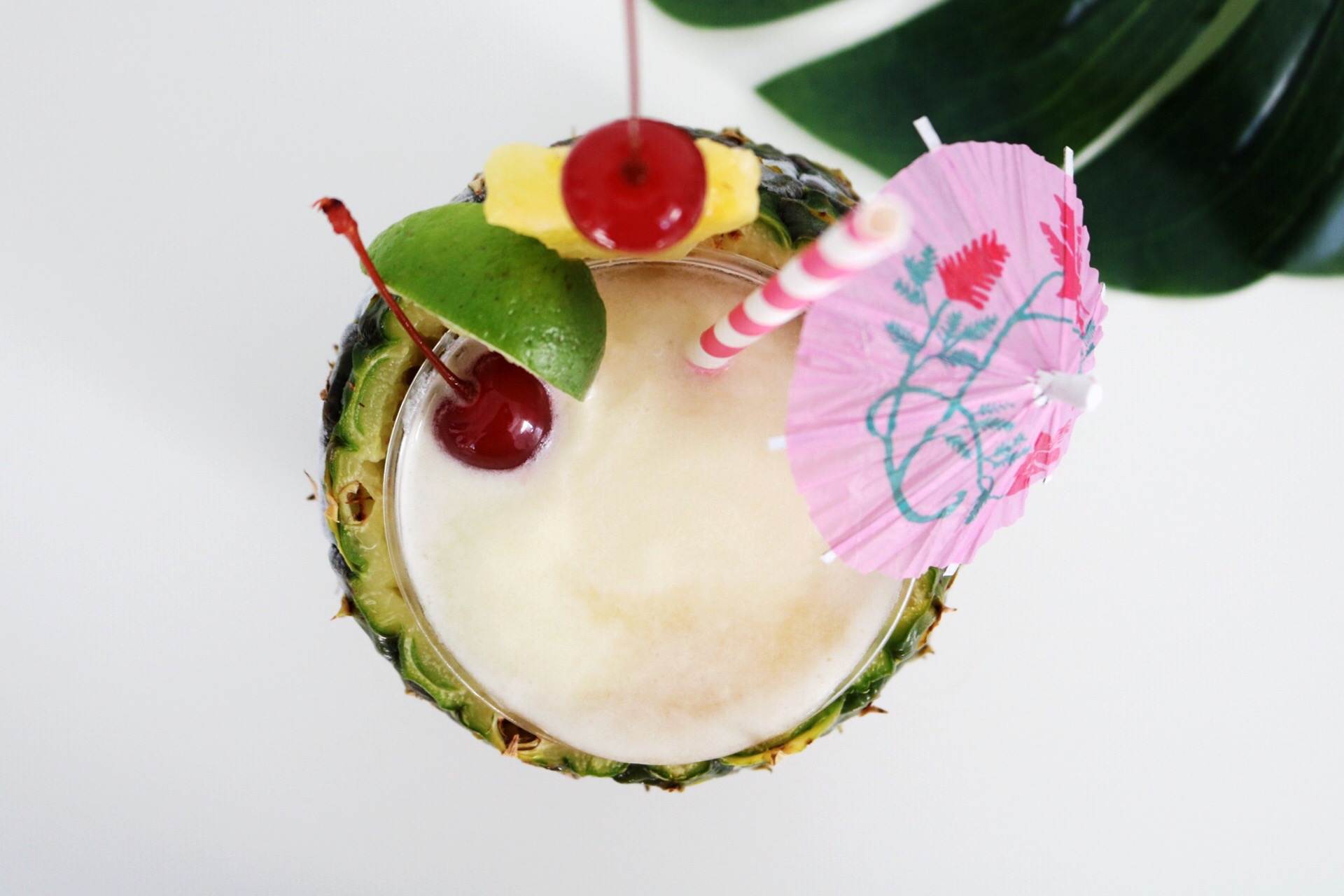 National Piña Colada Day is July 10th so celebrate where ever you're at with a homemade cocktail!