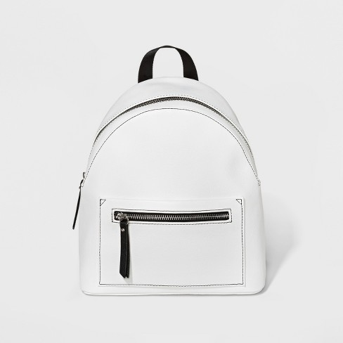 Mini White Backpack $22