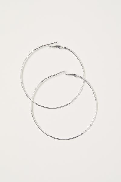 Hoop Earrings $2.99