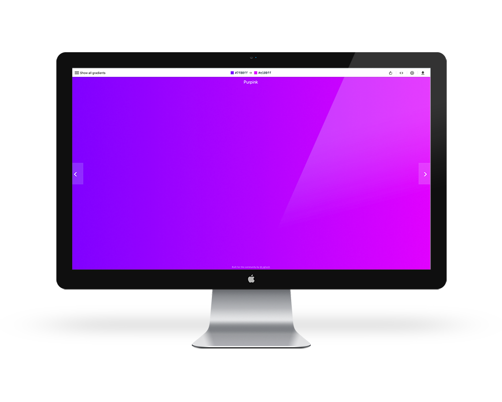 3. UI Gradients - Back in the early 2000s, the tacky overuse of gradients was everything. After the internet got over that, we all moved to flat design just before the time iOS 7 was released in 2013/14 with its flat overhaul. Flat design is still widely used, but gradients are making a comeback in a big way. You can find gradients ranging from subtle to extreme in all types of modern web and interface design, and it looks damn good when done right.Again, UI Gradients is exactly what it sounds like. Use it to choose from a curated selection of tasteful gradients and quickly copy the hex values or generate and copy the CSS necessary for web projects.Colorzilla used to be my go-to for these functions, but I find it there's a lot more fiddling involved in getting colours that work well together and the interface is getting a little long in the tooth. UI Gradients has a simple, beautifully modern interface that aligns well with my minimalist sensibilities. Check it out.