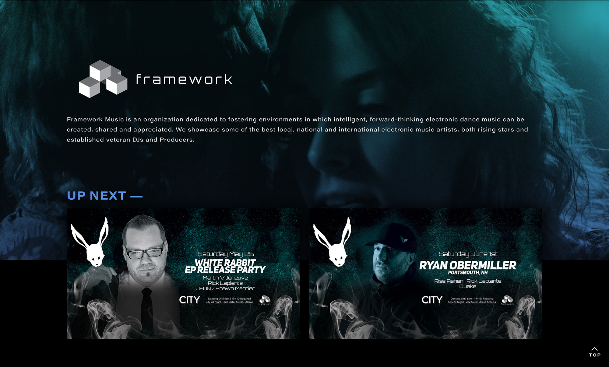 Framework Music Home Page