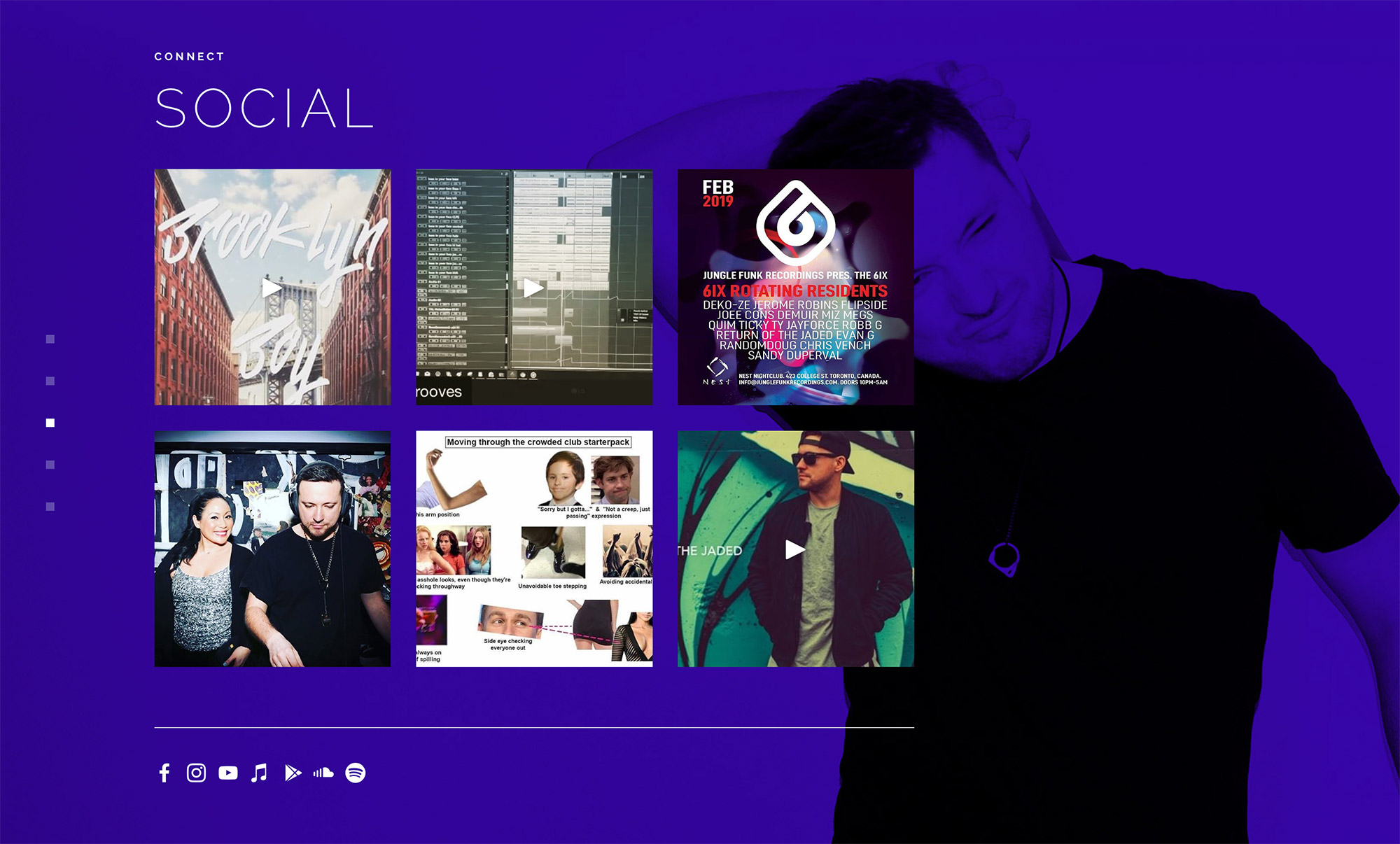 Websites for Music and DJs