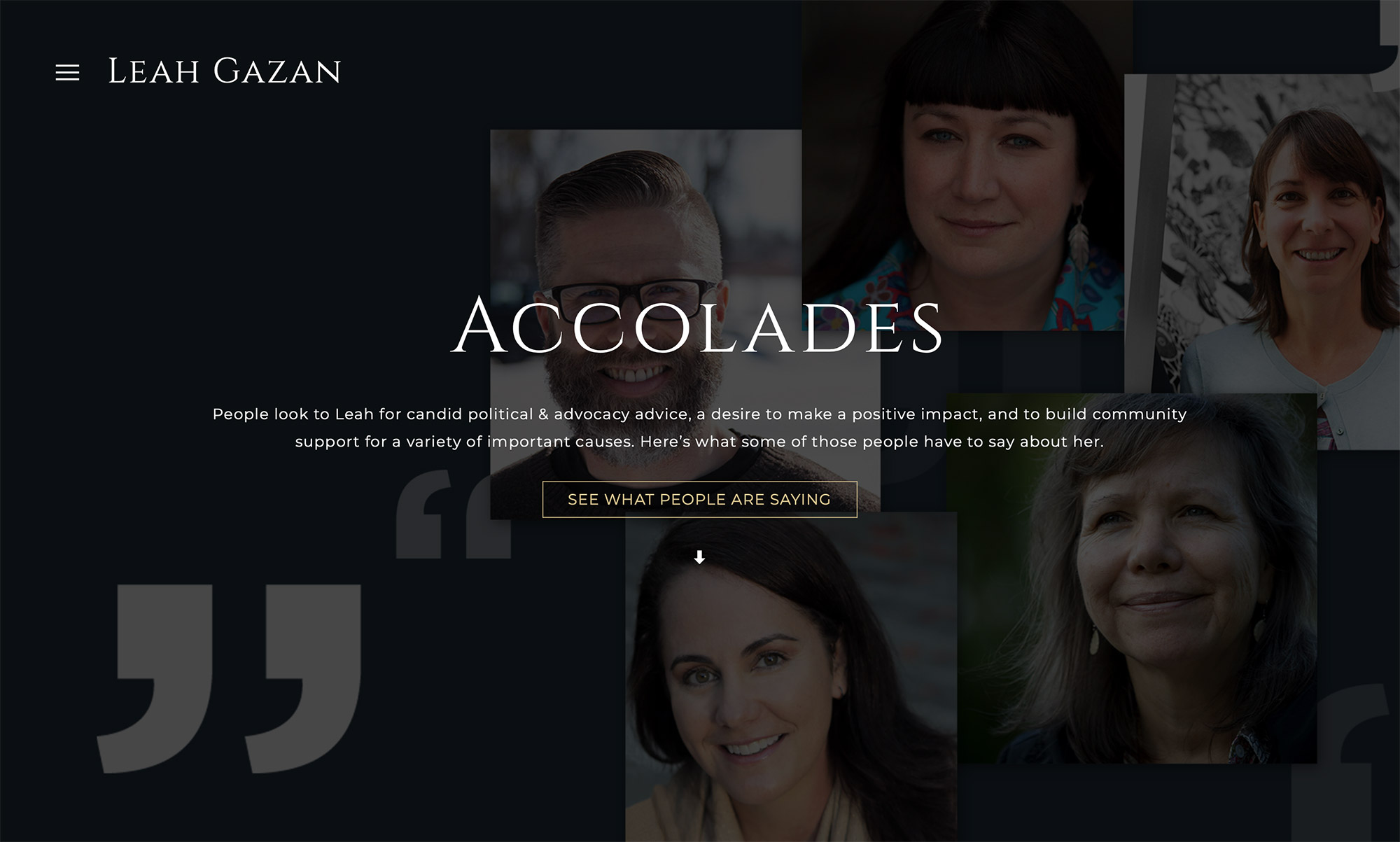 Websites for Consultants & Non-Profits