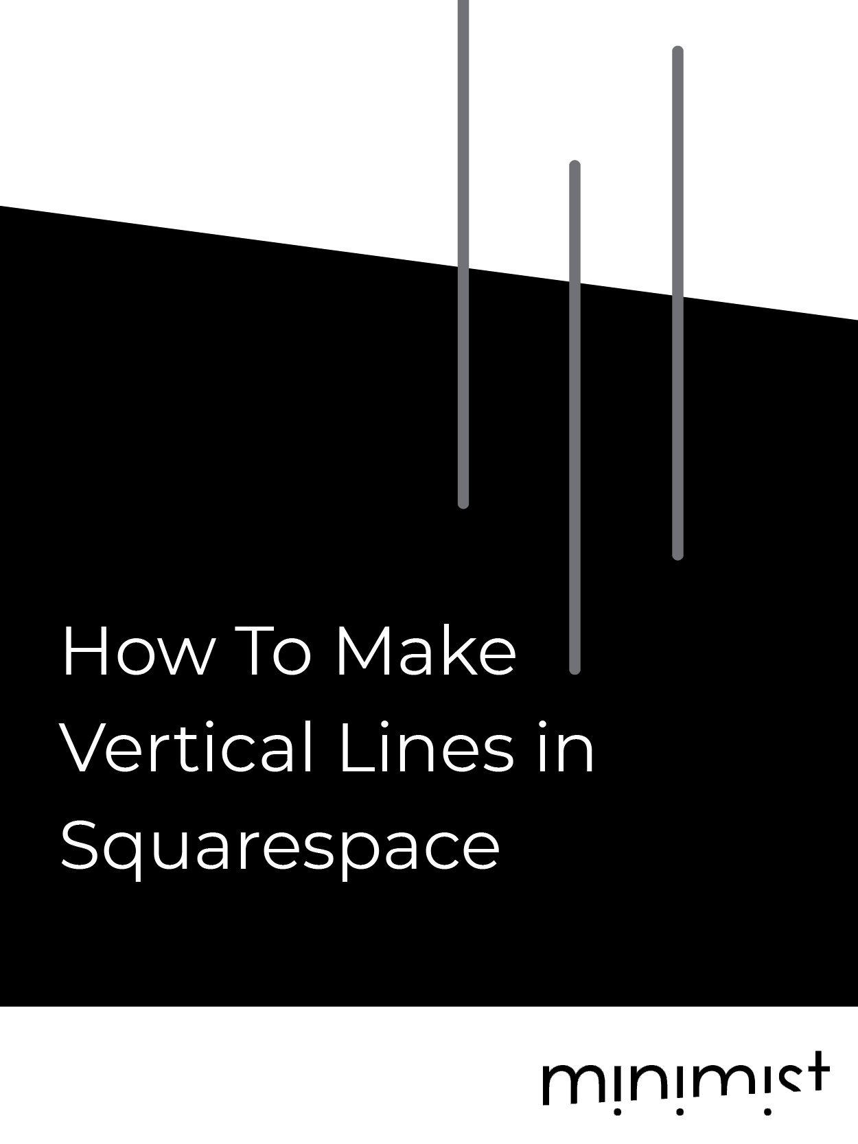 How To Make Vertical Lines in Squarespace