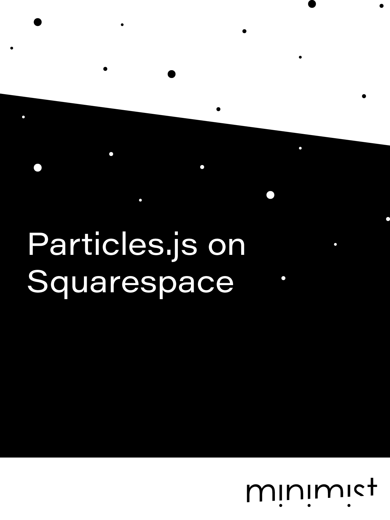 Particles.js on Squarespace