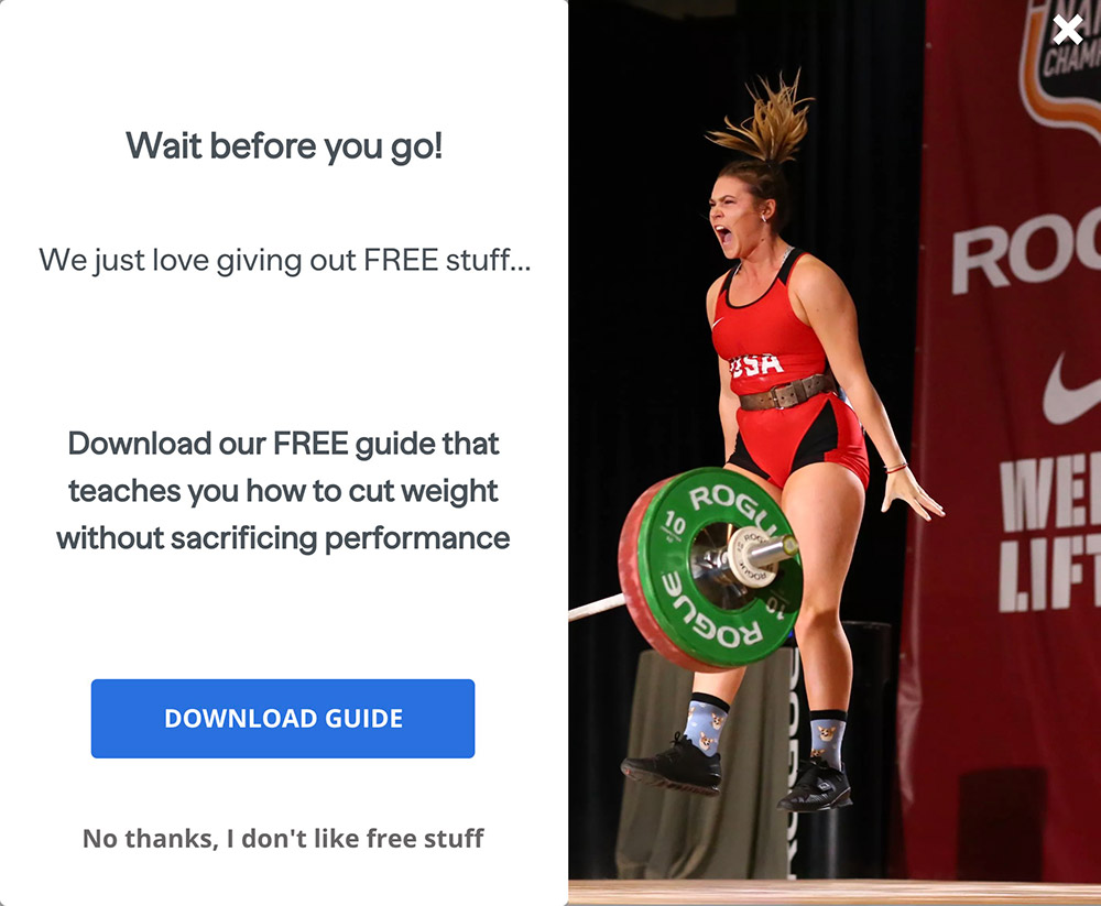 Vera Performance | Sports Nutrition and Fitness Call to Action