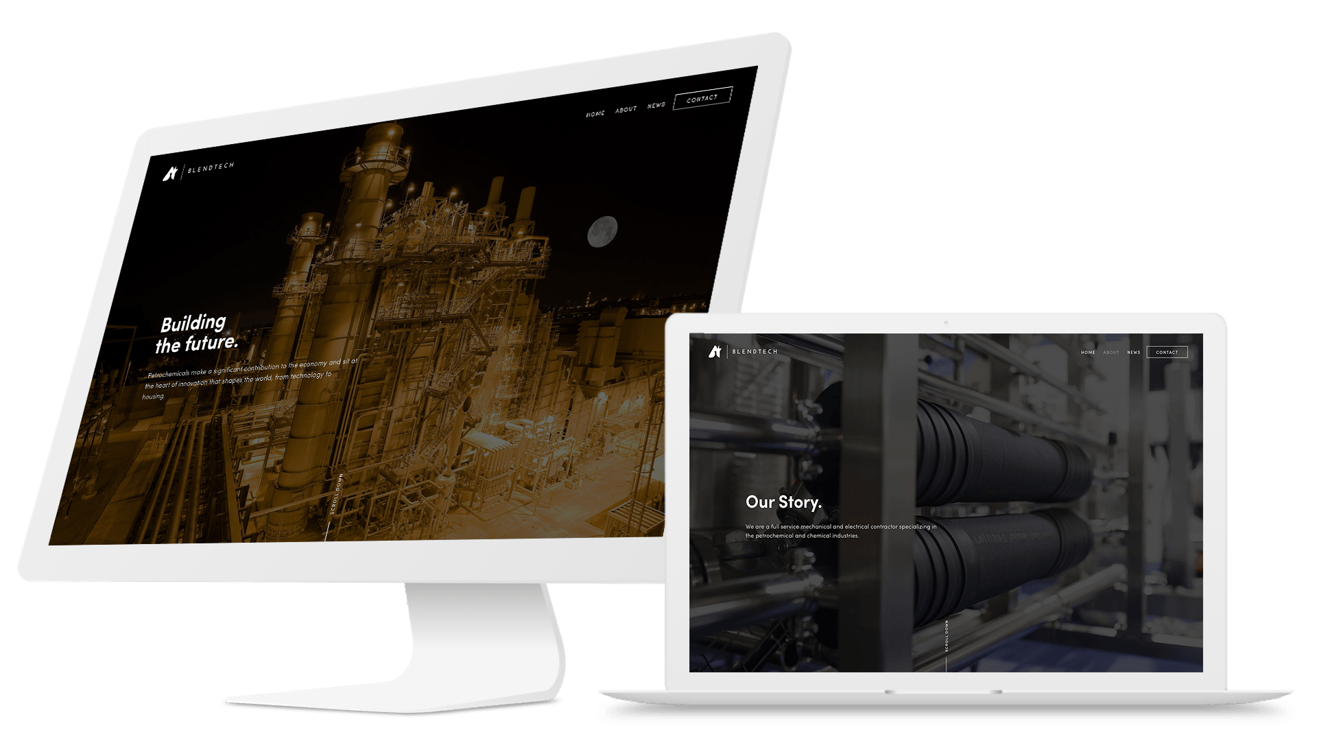 Blendtech | Websites for corporations and industry