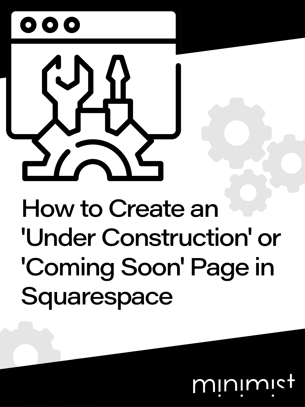How to Create an 'Under Construction' or 'Coming Soon' Page in Squarespace