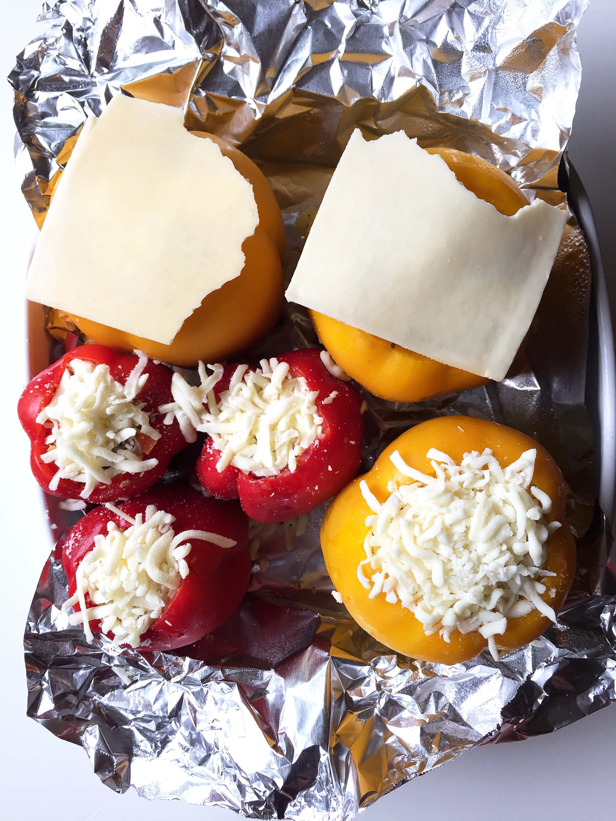 Step 6. Topped with cheese!