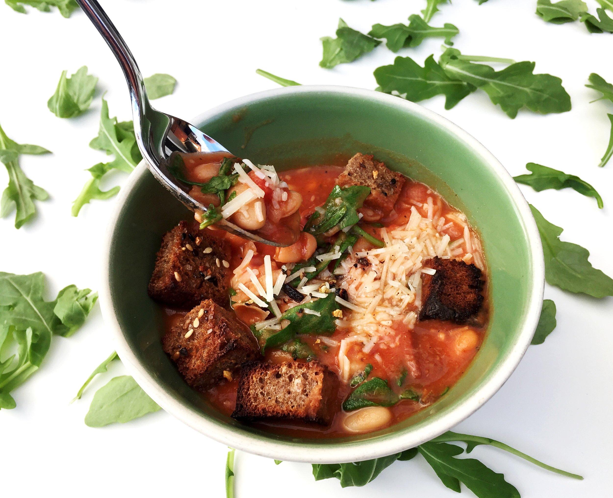 Top with parmesan & enjoy!