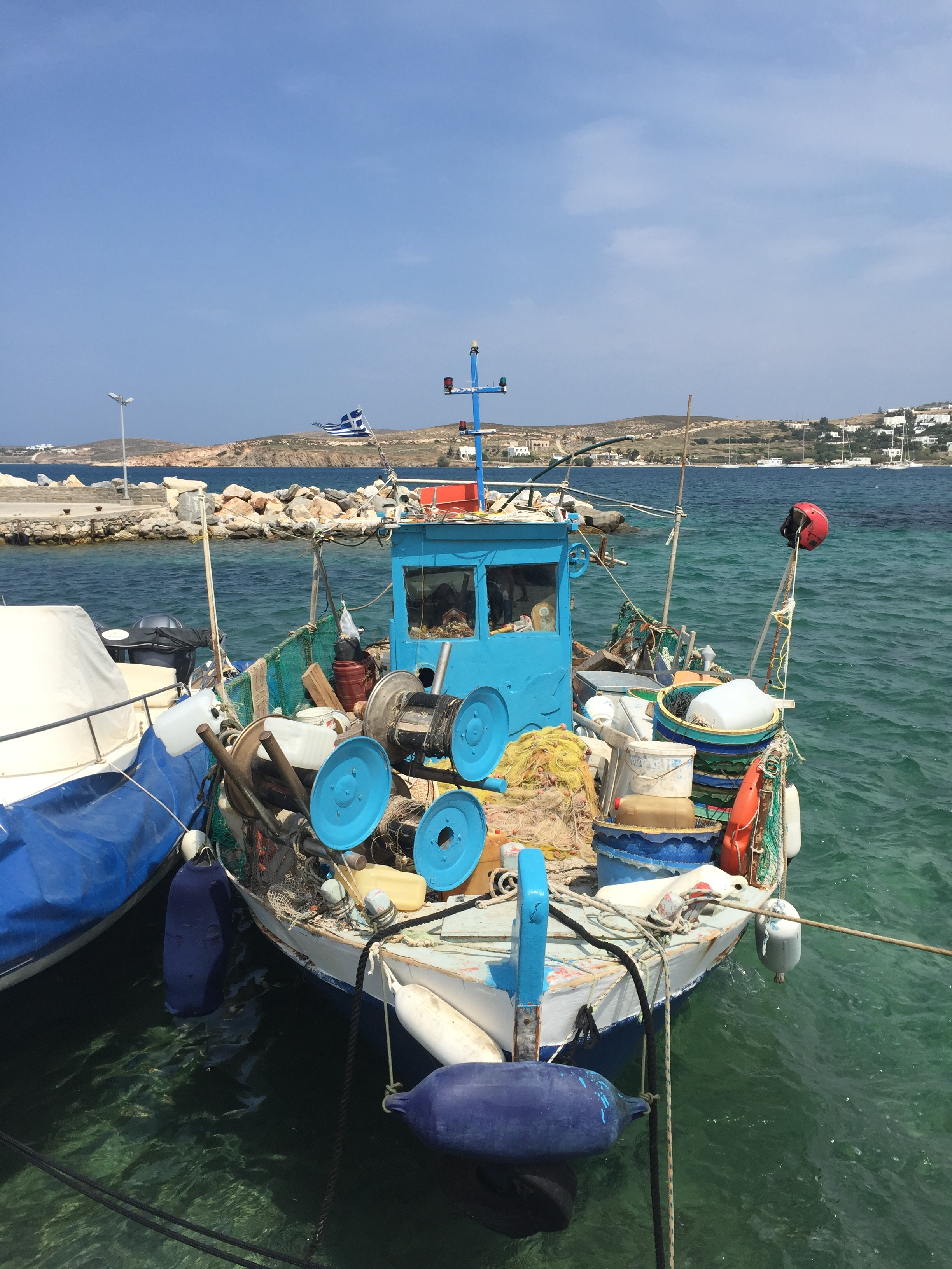 Fishing Boat with all the tools!