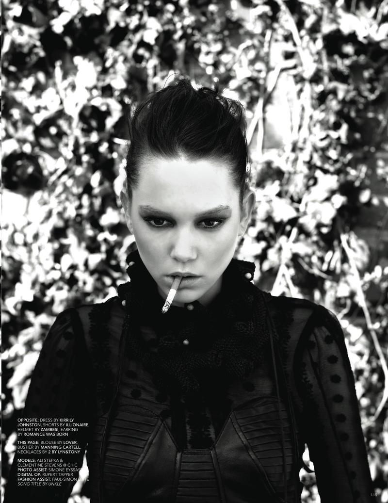 burn my shadow /  black magazine