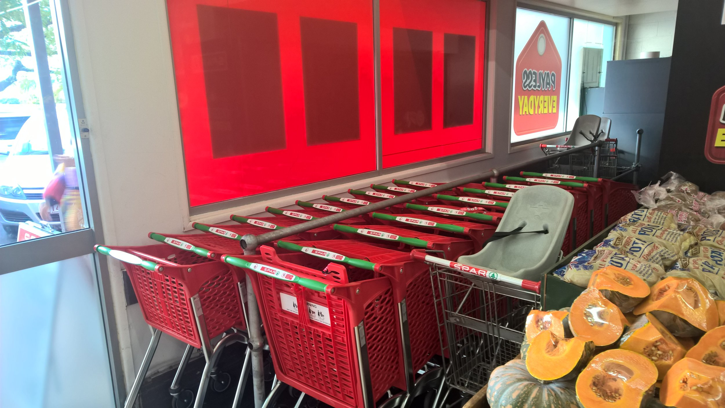 Out with the old, heavy, boring steel metal clunkers and in with the light, vibrant and newly branded, new generation hybrid shopping trolleys from Supercart.  Supercart - Supermove.