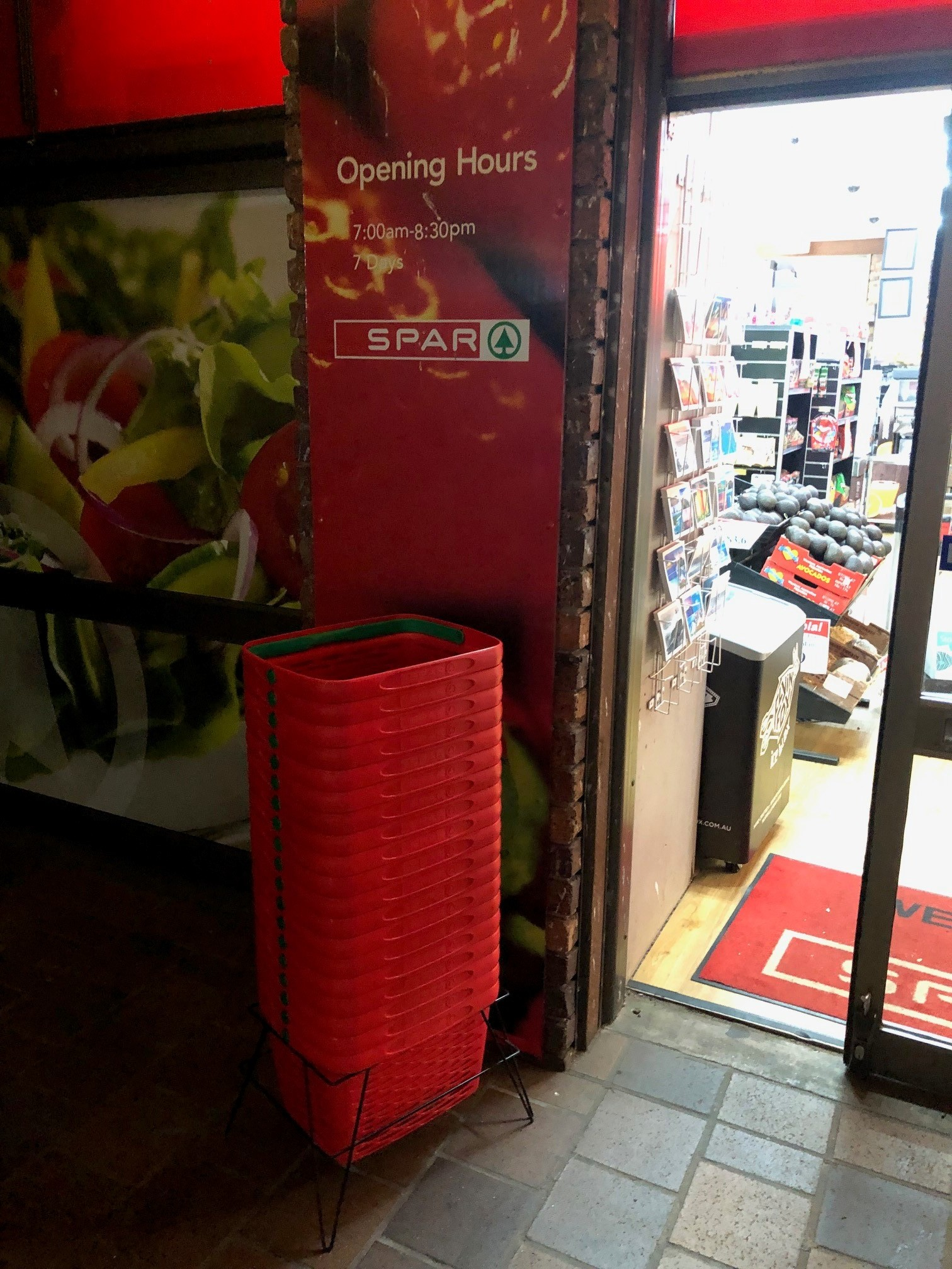 SPAR branded hand baskets instore 2.jpg