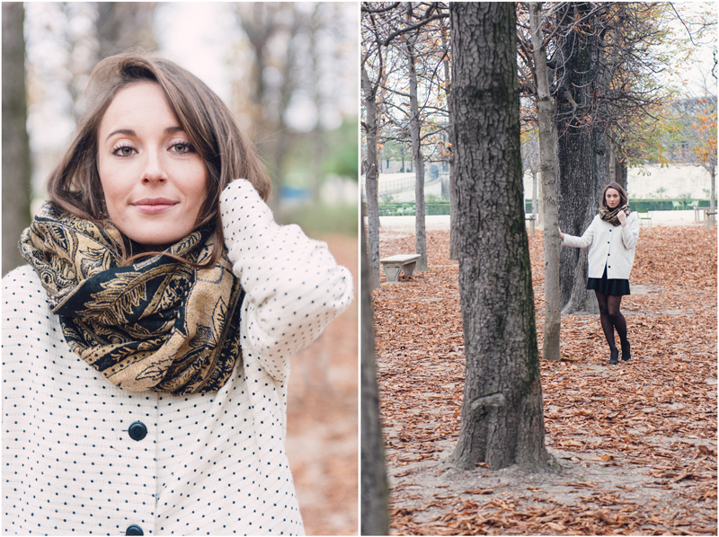 Fall has this very specific colors and atmosphere that allows to have a great time during a professional photo shoot in Paris.