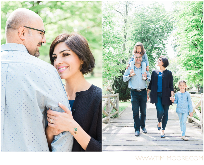 Tim Moore capturing family moments during a great photo shoot in Paris