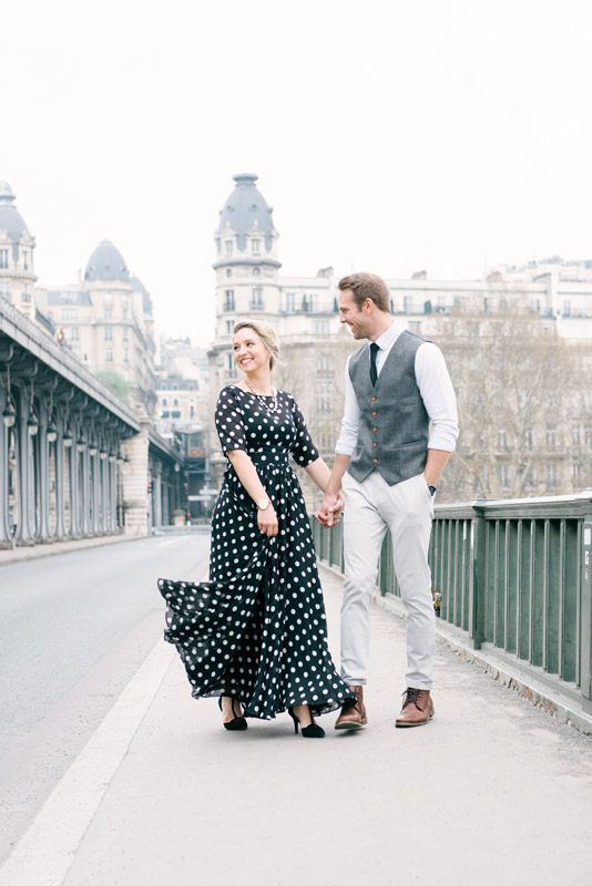 Photographer in Paris - Our couple Brooke and Doug enjoying their Paris Photo Shoot with Tim Moore
