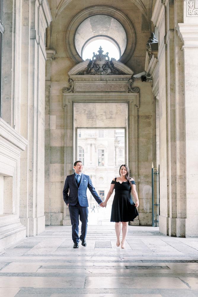 Paris Photographer - Majestic Louvre Corridor