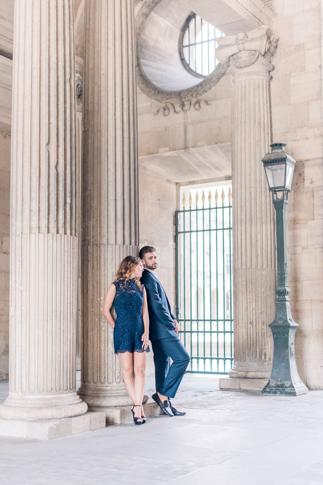 Paris Photographer - Elegant couple