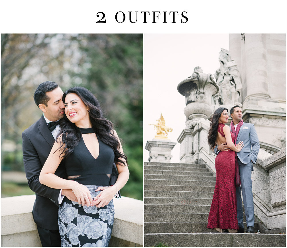 Photographer in Paris - Tim Moore posting another example of a photoshoot in Paris involving more than one outfit.