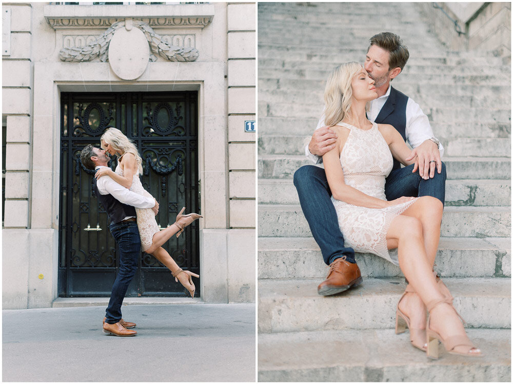 Paris Photographer - Anniversary celebrated with a photoshoot in Paris