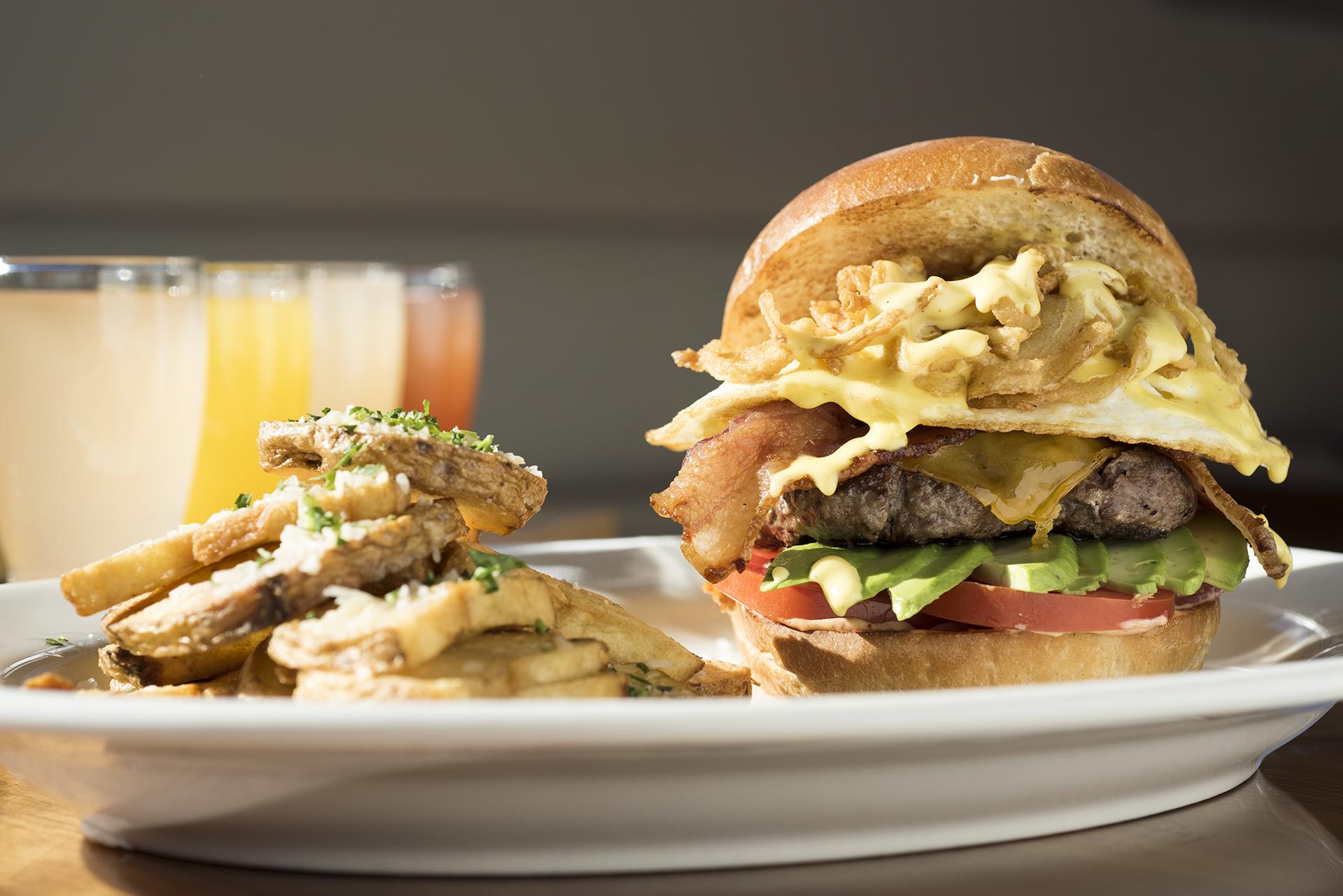 """Copy of Copy of The """"a.m."""" Burger"""